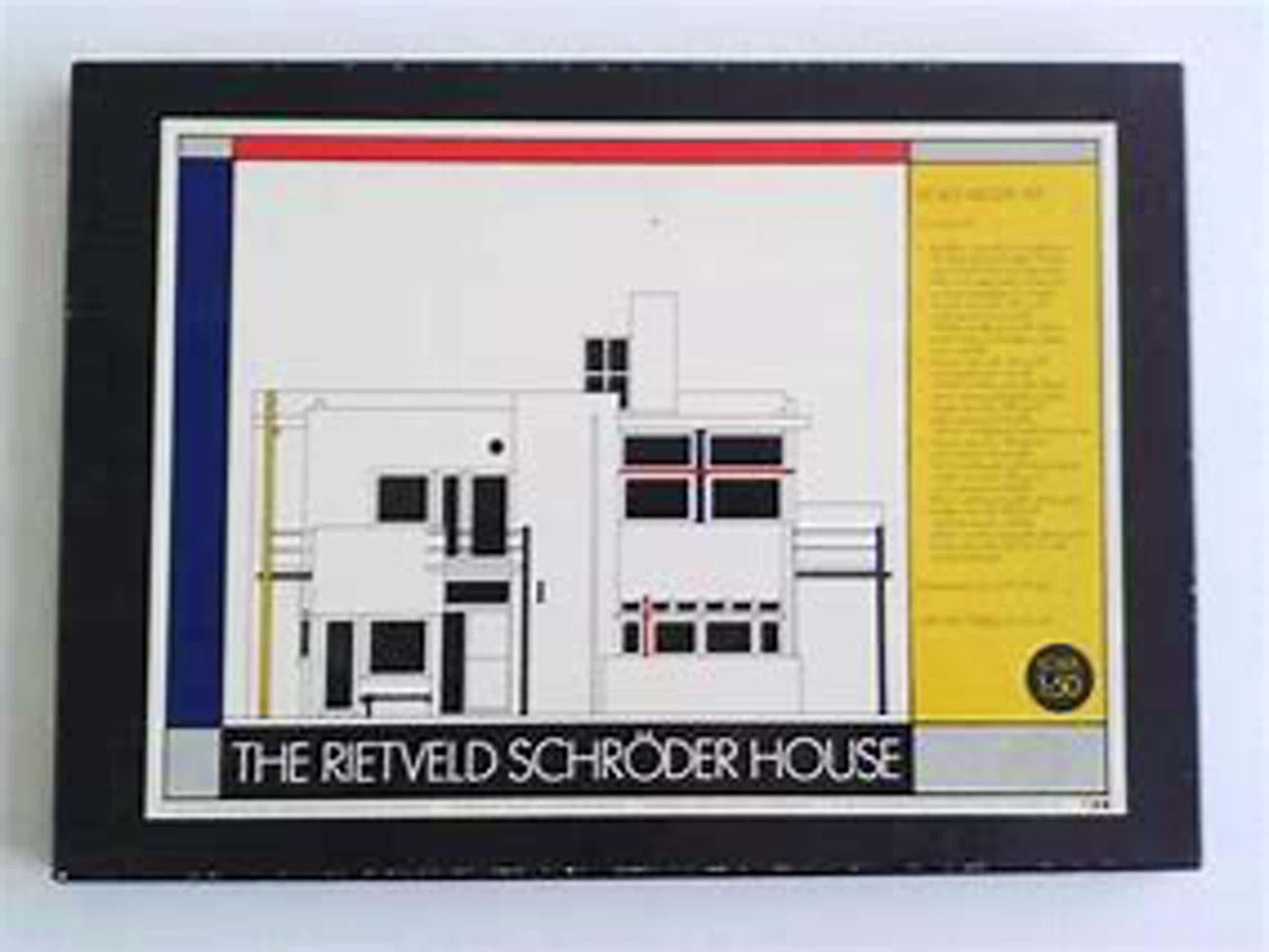 Gerrit Rietveld - Volledige bouwplaten doos van Rietveld Schröder huis kopen? Bied vanaf 45!