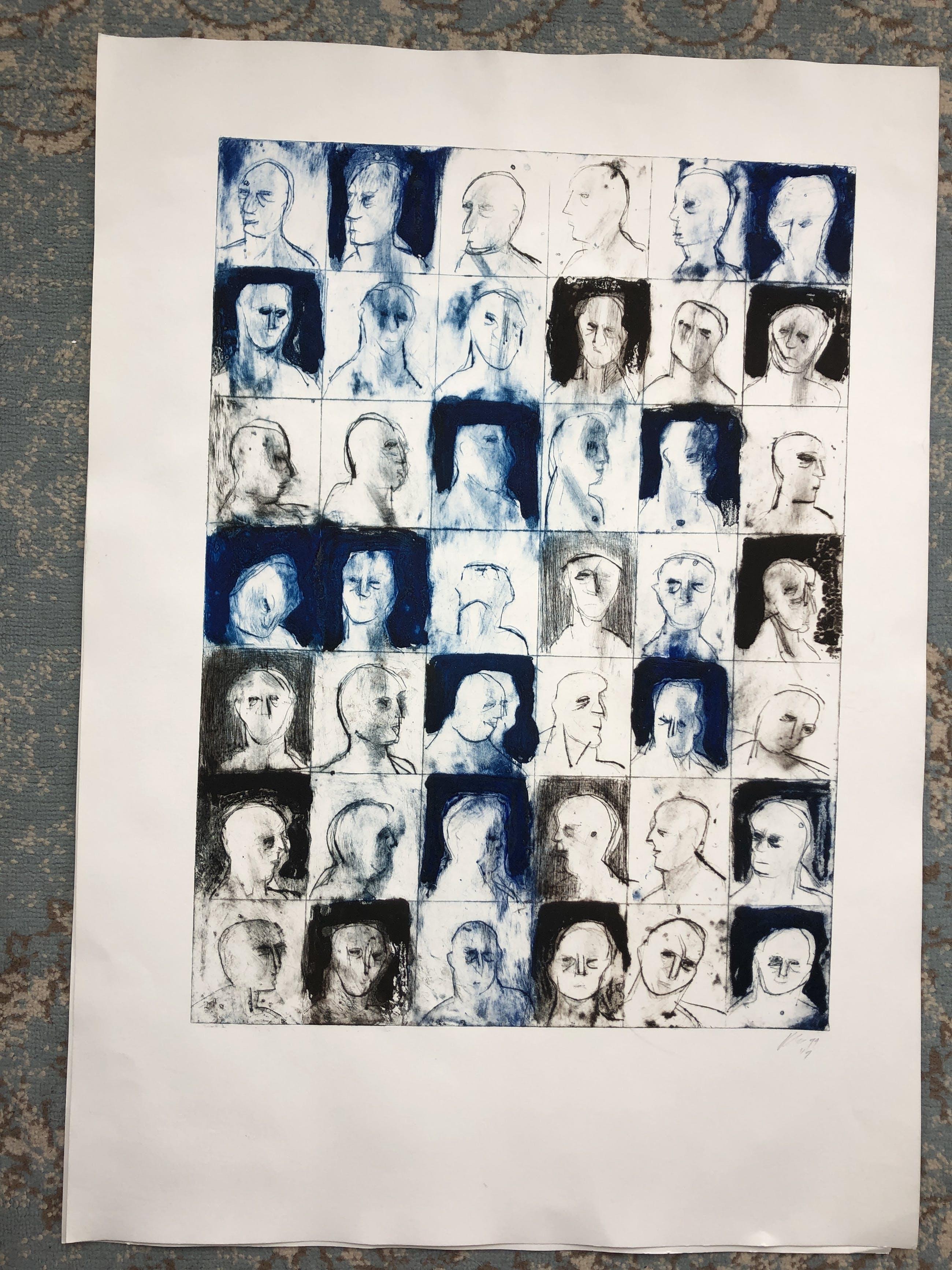 Krin Rinsema - portretten kopen? Bied vanaf 75!