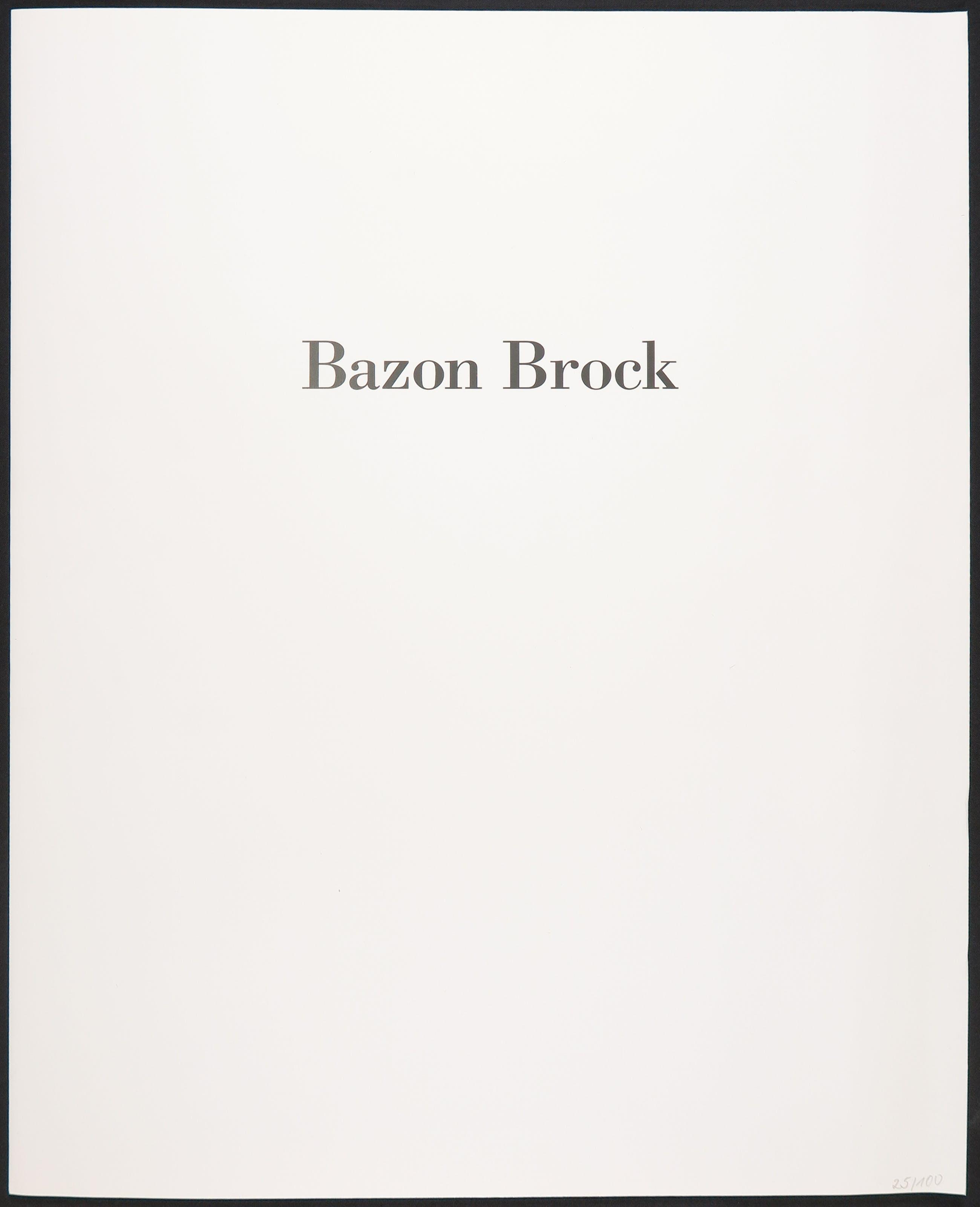 Bazon Brock - Richte die Zeiten, 1995 kopen? Bied vanaf 50!