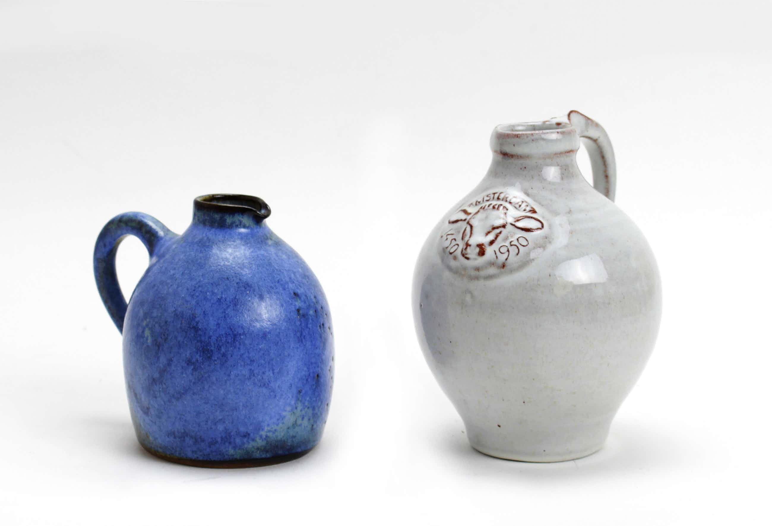 Potterij Zaalberg - 2 aardewerk kruikjes kopen? Bied vanaf 15!