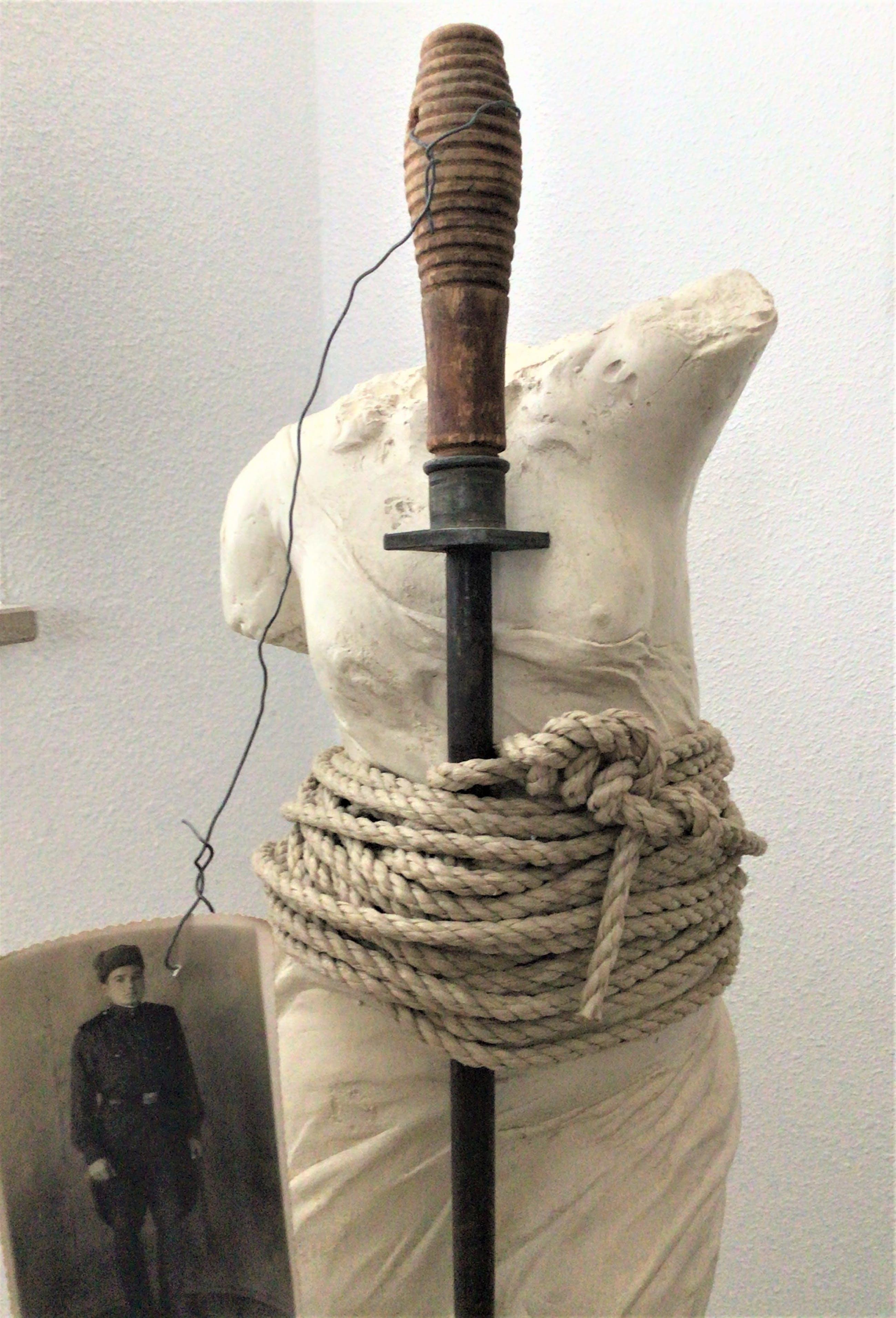 Julia Winter - Vrouwe Justitia - 2003 - Beeld - Diverse materialen - Zeer goed kopen? Bied vanaf 295!