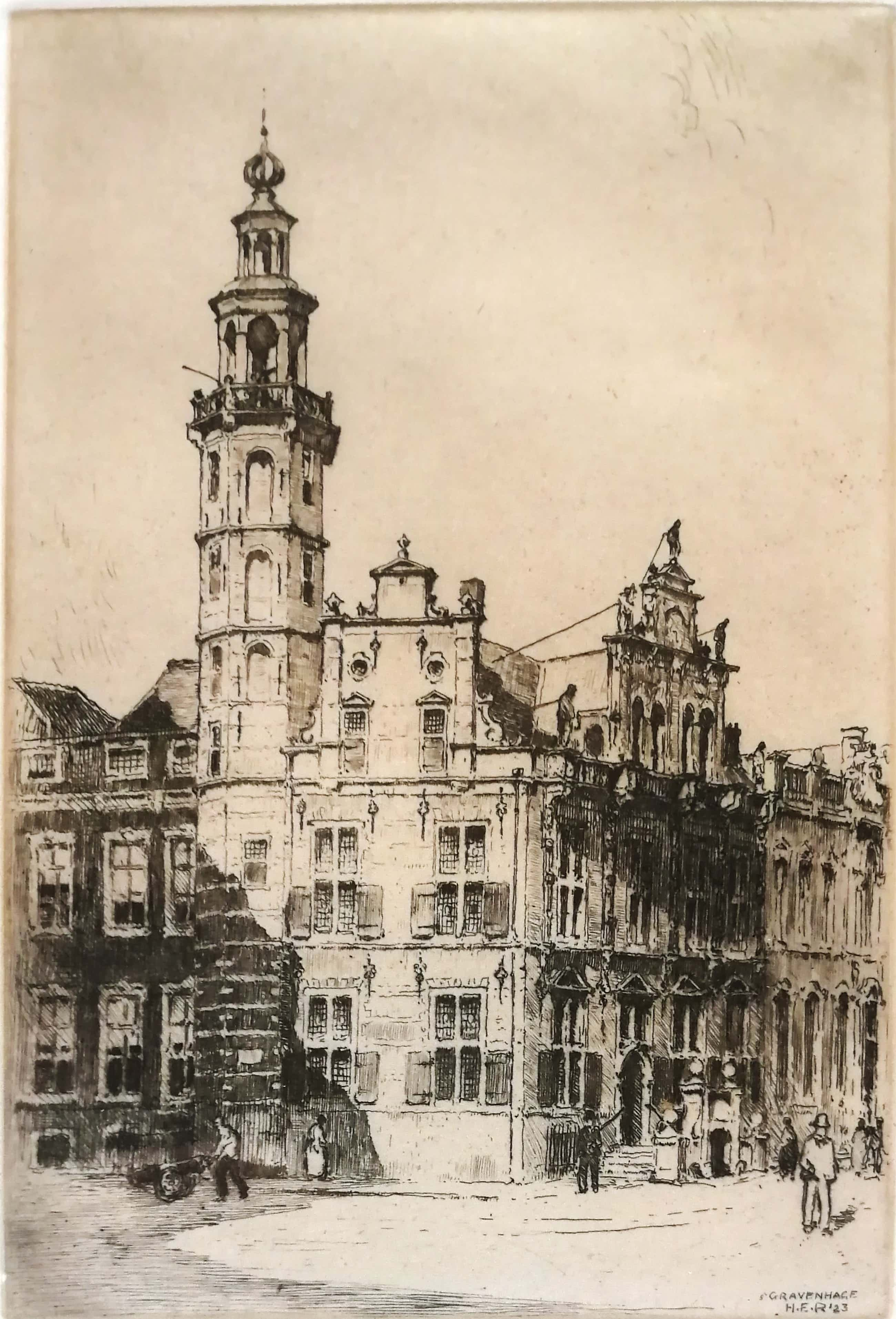Hendrikus Roodenburg - Stadhuis Den Haag kopen? Bied vanaf 50!