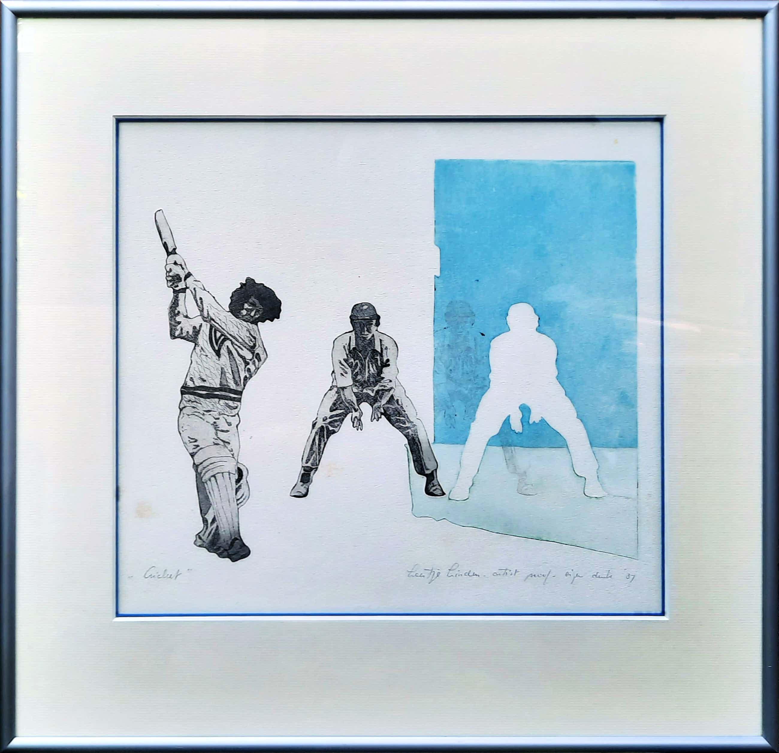 Leentje Linders - ETS in nieuwe lijst - Cricket a.p. 1987 - 21045 kopen? Bied vanaf 45!