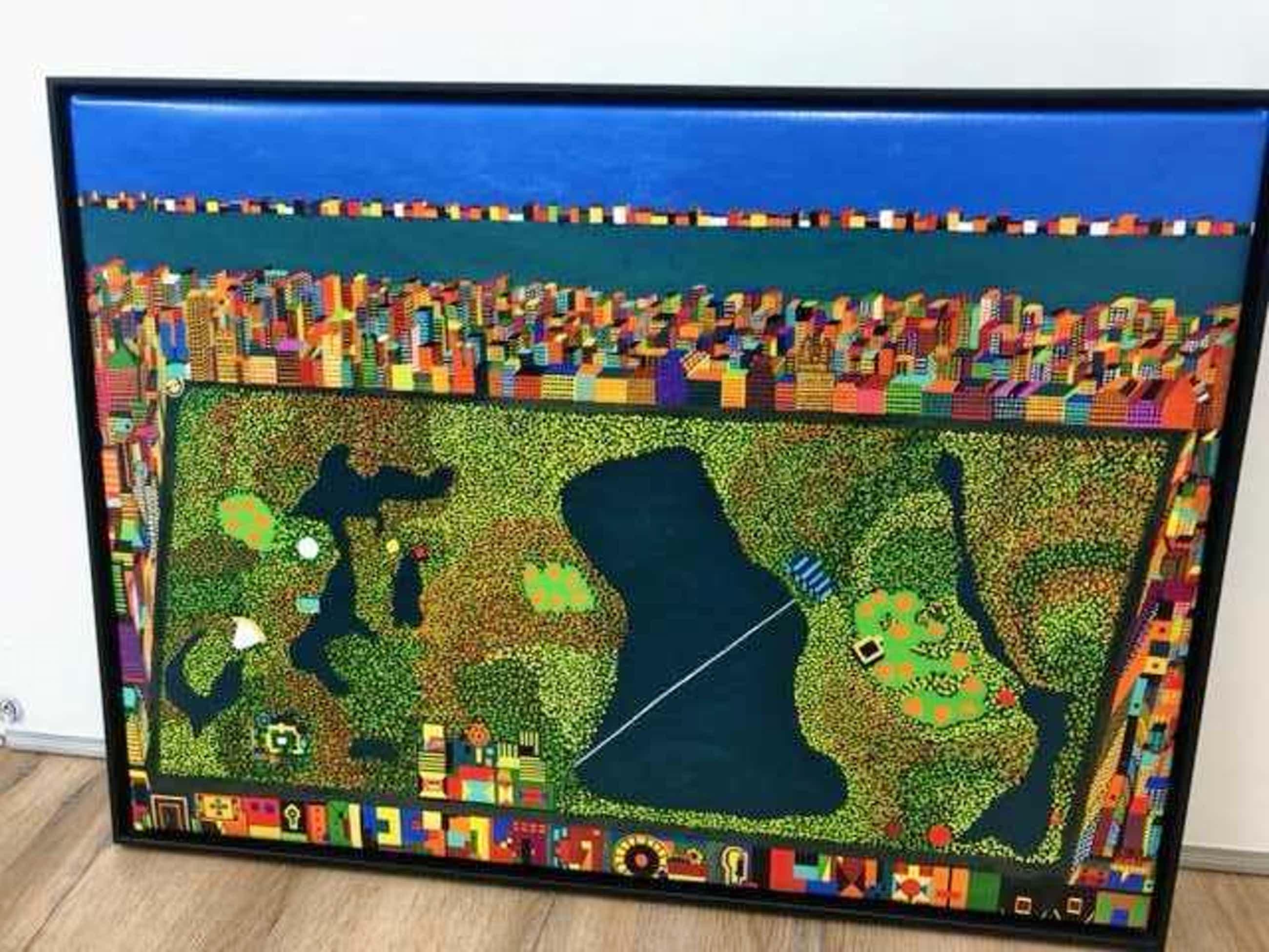 Frank Dammers - Central Park New York kopen? Bied vanaf 75!