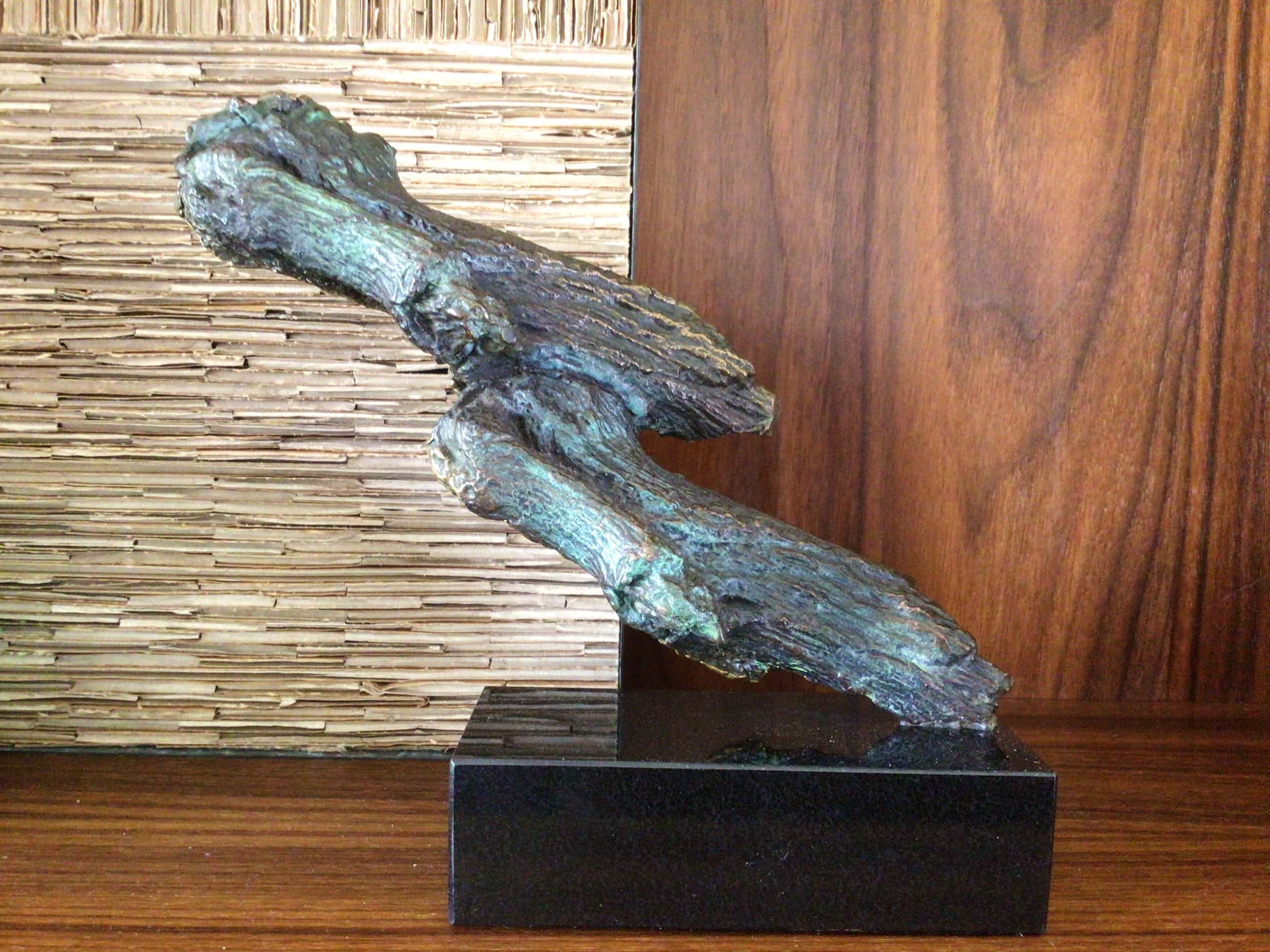 """Ben van Lier - Prachtig brons, unicum, """"boomstronken"""" kopen? Bied vanaf 250!"""