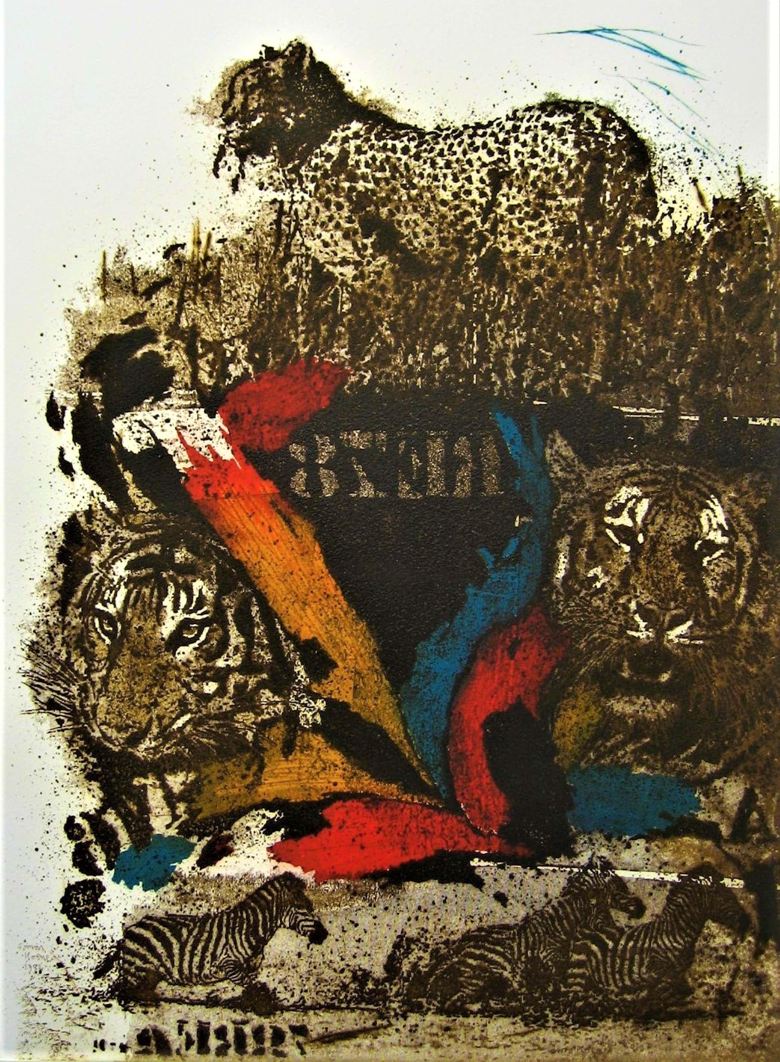 Simon Koene - Cheetah (groot) kopen? Bied vanaf 45!