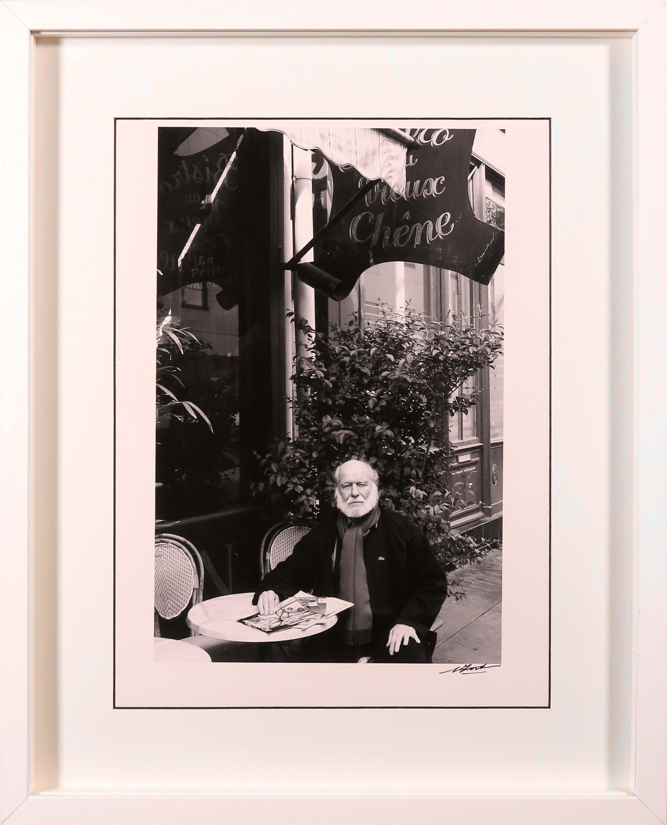 Nico Koster - Foto, Portret van Corneille in Frankrijk - Ingelijst kopen? Bied vanaf 36!