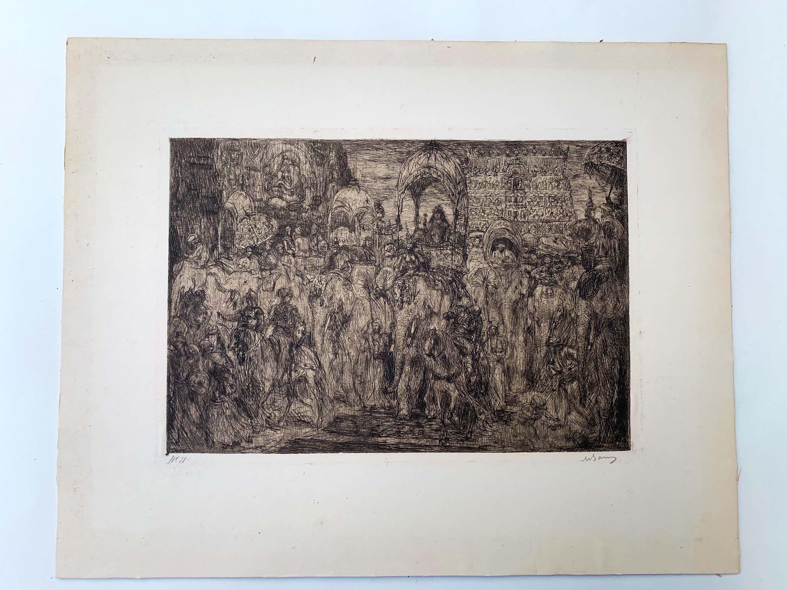 Marius Bauer - illustratie van het prozagedicht Akëdysséril kopen? Bied vanaf 50!