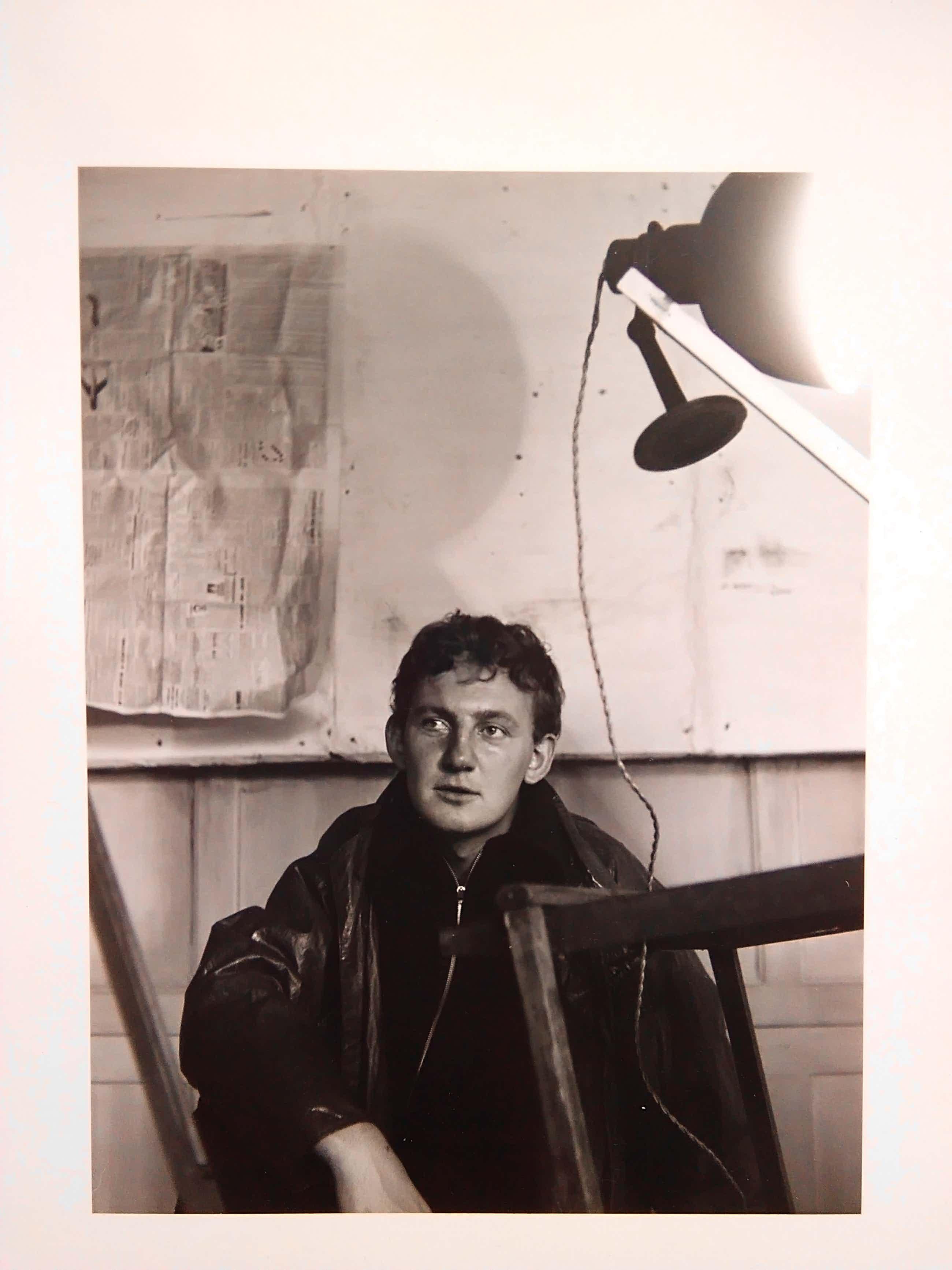 Henny Riemens - Portretfoto Hugo Claus. kopen? Bied vanaf 40!