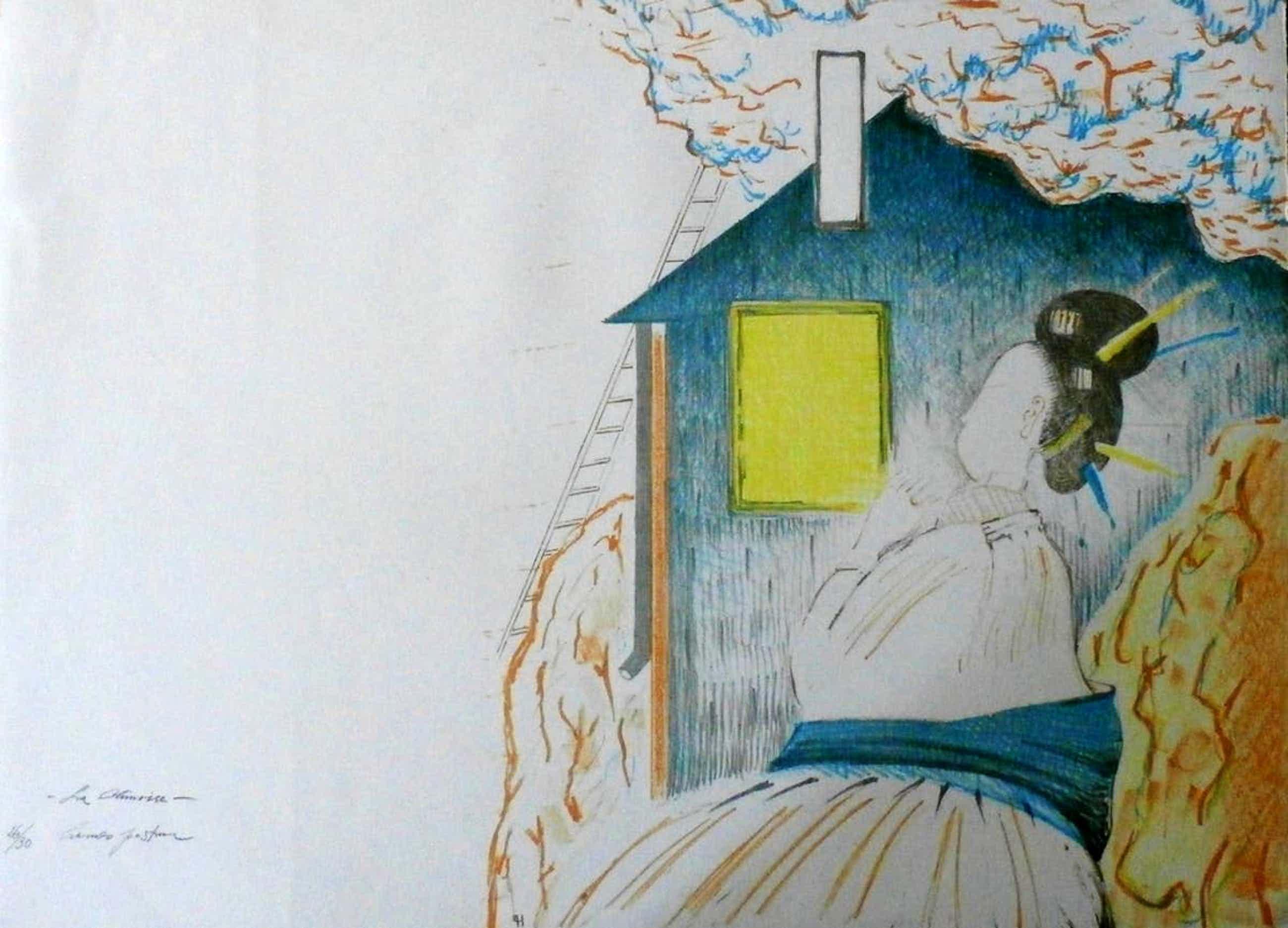 Hannes Postma - Litho: La Climoise - 1972 kopen? Bied vanaf 35!