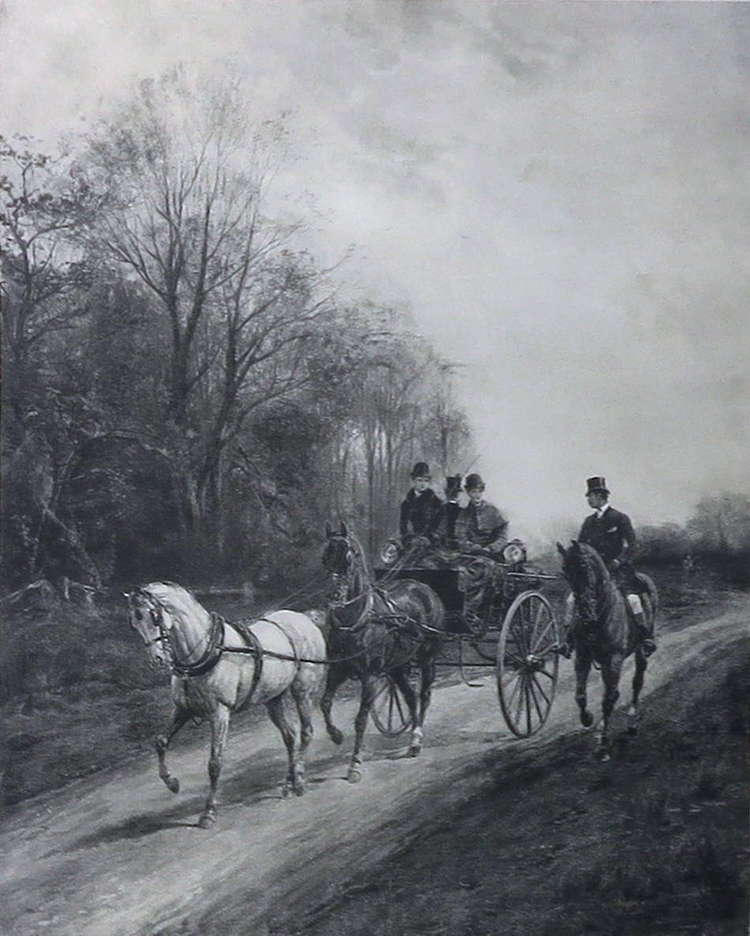 Paul van der Ven - en Onbekend - Ets, en druk - Lot van drie schilderijen - Ingelijst kopen? Bied vanaf 1!