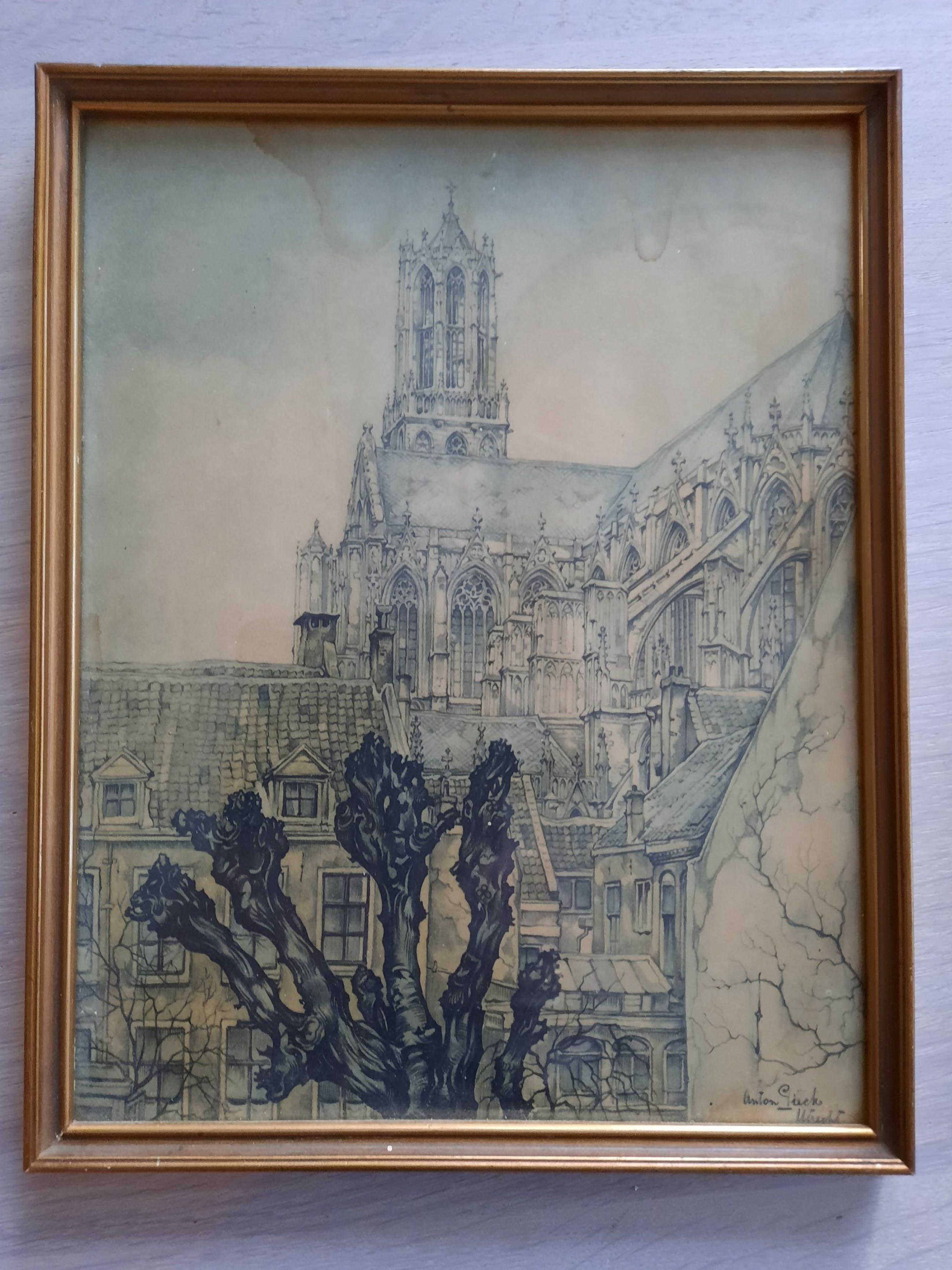 Anton Pieck - Dom Utrecht kopen? Bied vanaf 5!