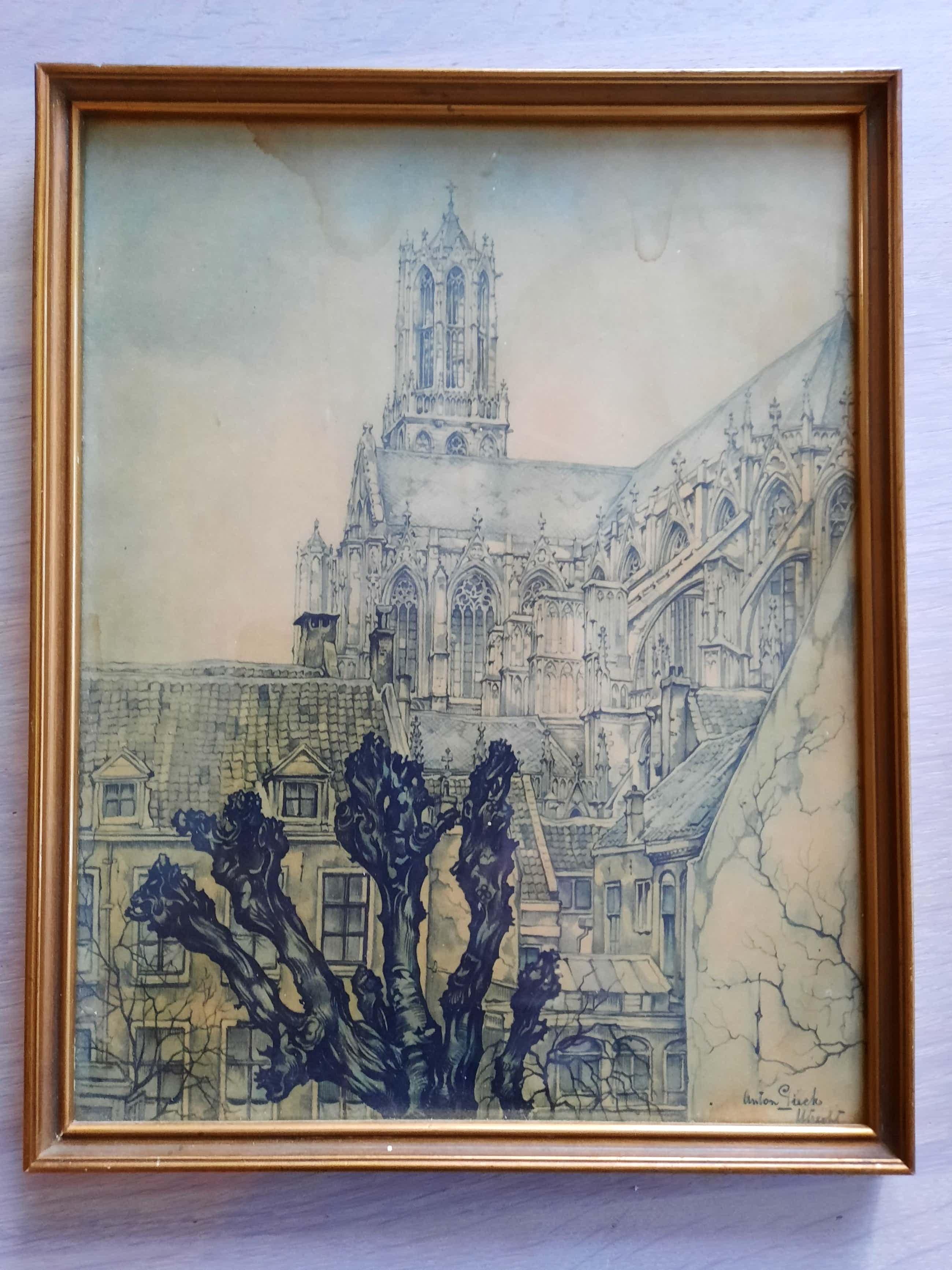 Anton Pieck - Dom Utrecht kopen? Bied vanaf 60!