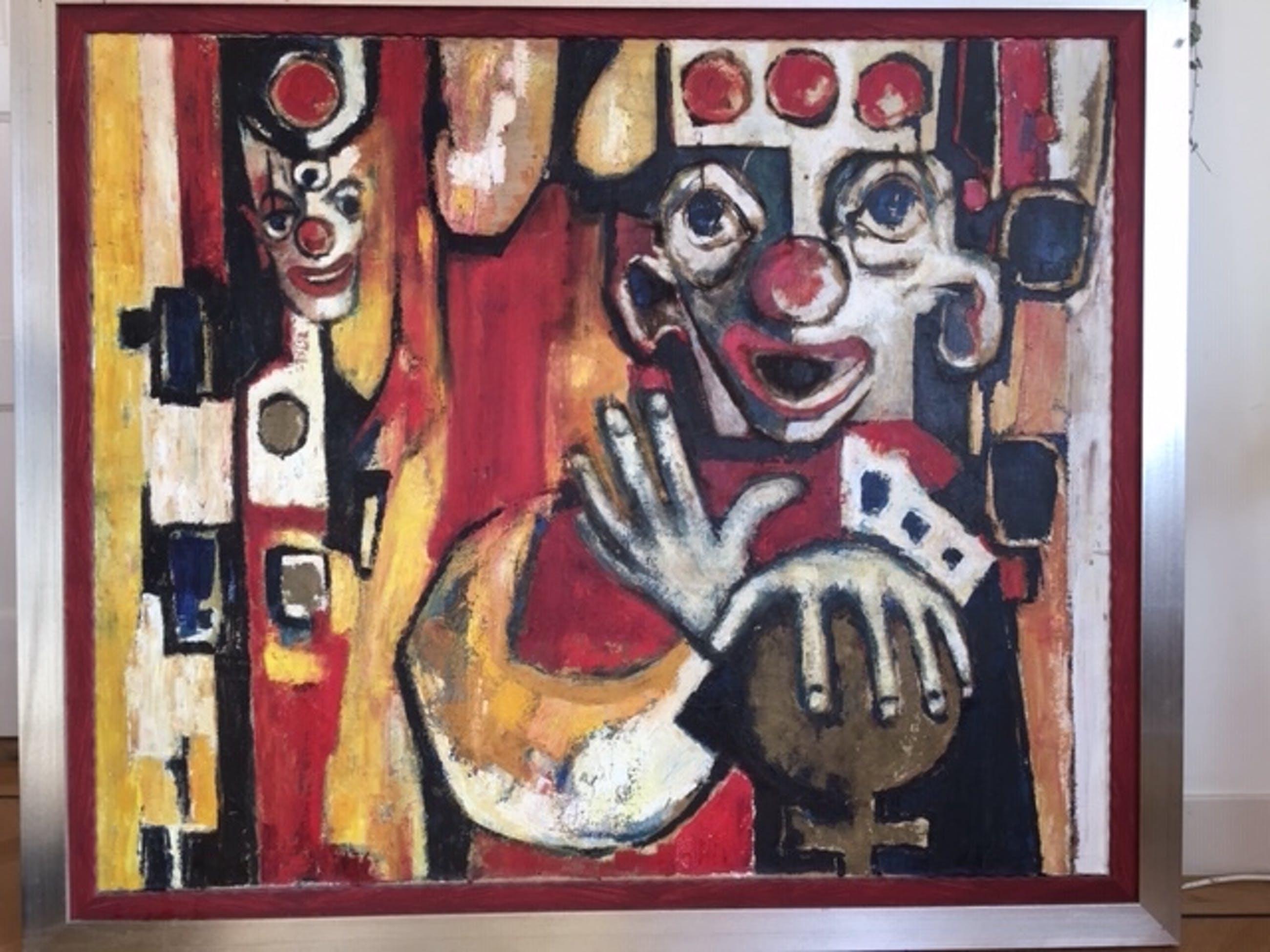 Gerke J. de Vries - verdrietige clown kopen? Bied vanaf 99!