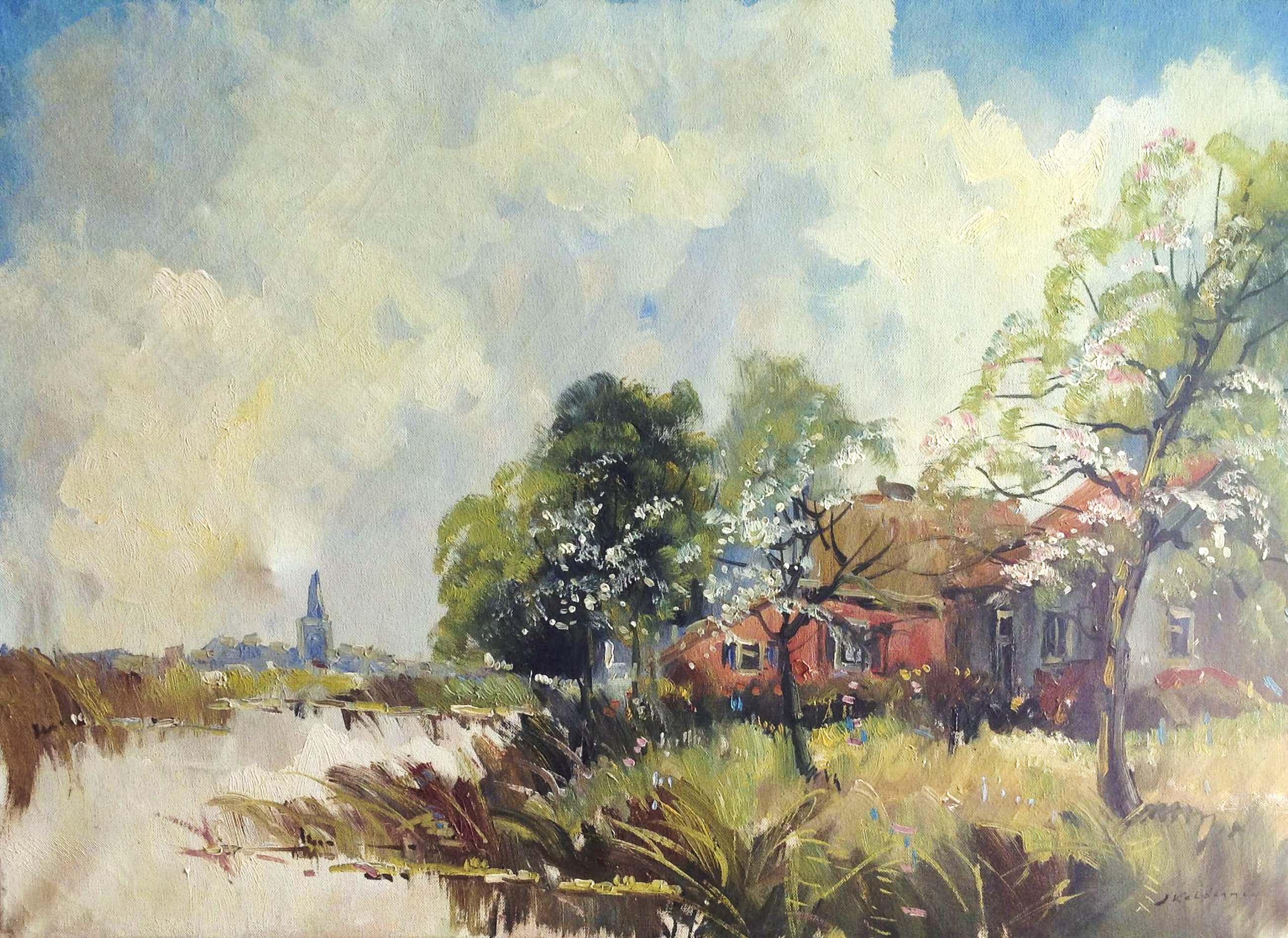 Jan Kelderman - C1085-10, Zomer aan de boerderij kopen? Bied vanaf 50!