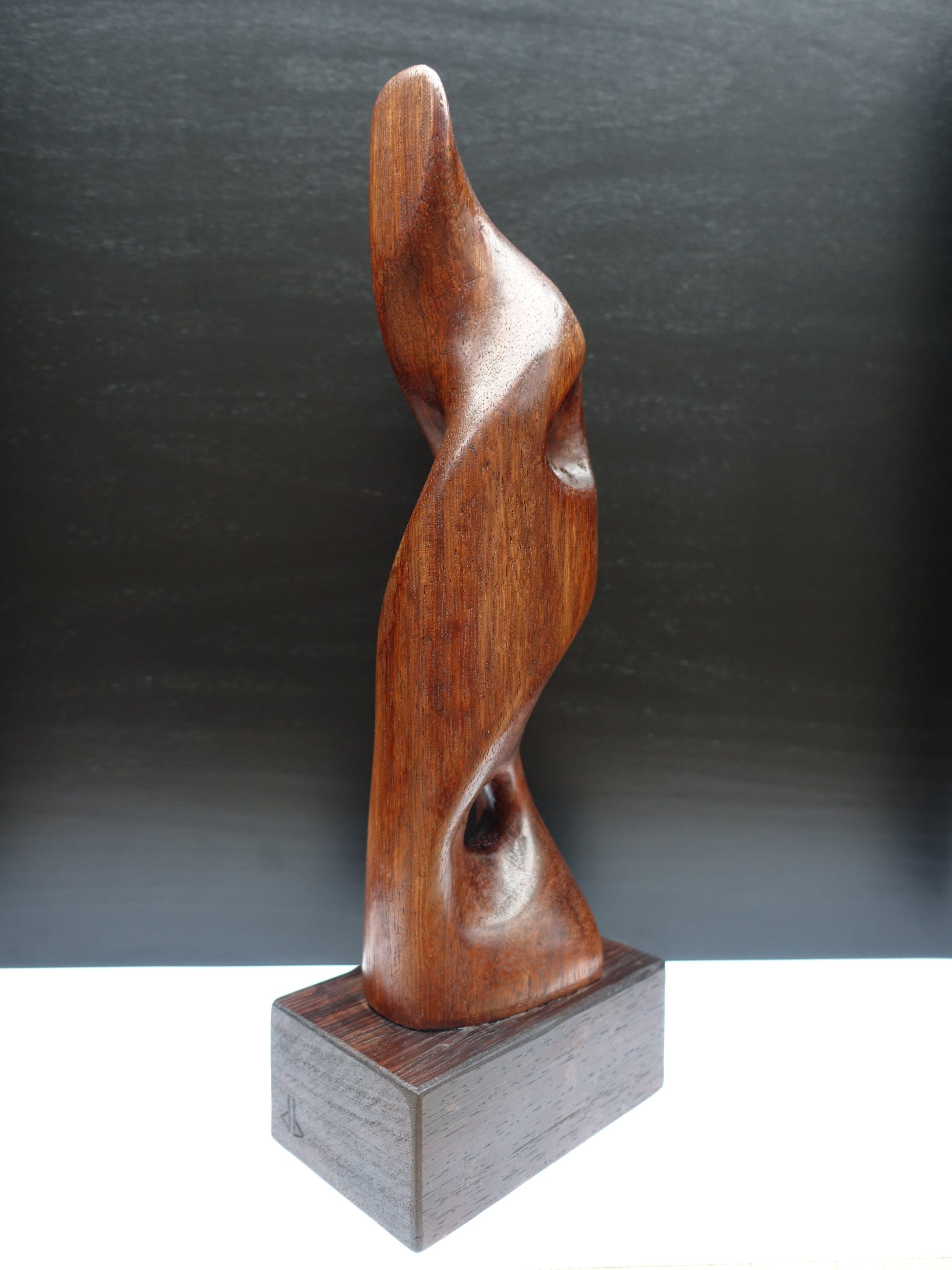 Dolf Breetvelt - Abstracte compositie in hout kopen? Bied vanaf 375!
