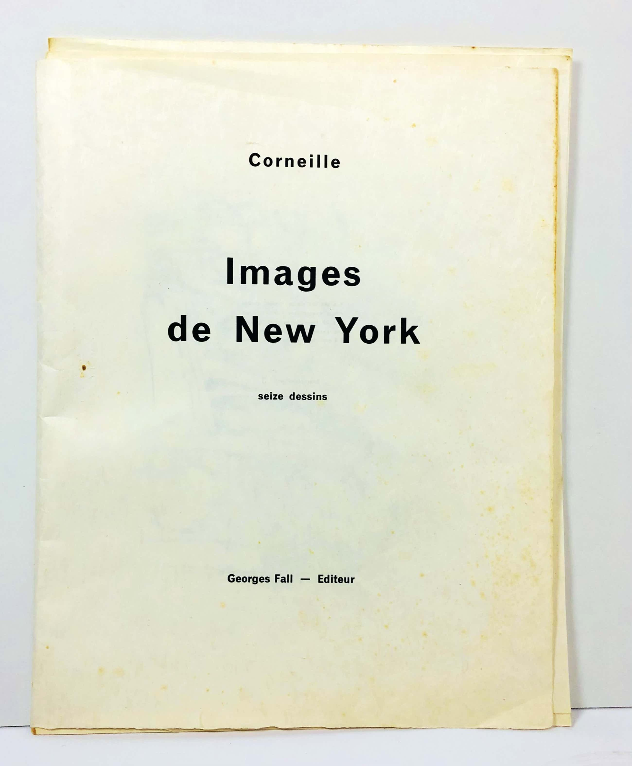 Corneille - Portefeuille Images De New York nr 3 op Japans papier! Donkersloot nr 56 t/m71 kopen? Bied vanaf 1350!