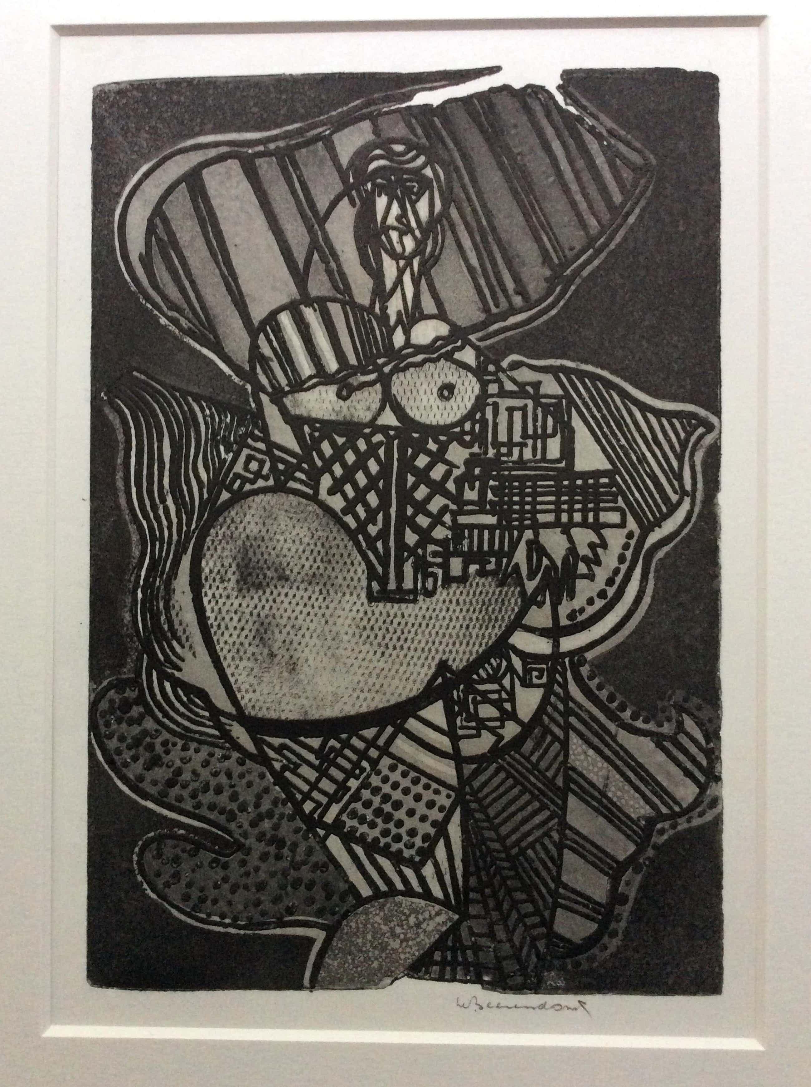 Theo Beerendonk - lady abstract kopen? Bied vanaf 40!