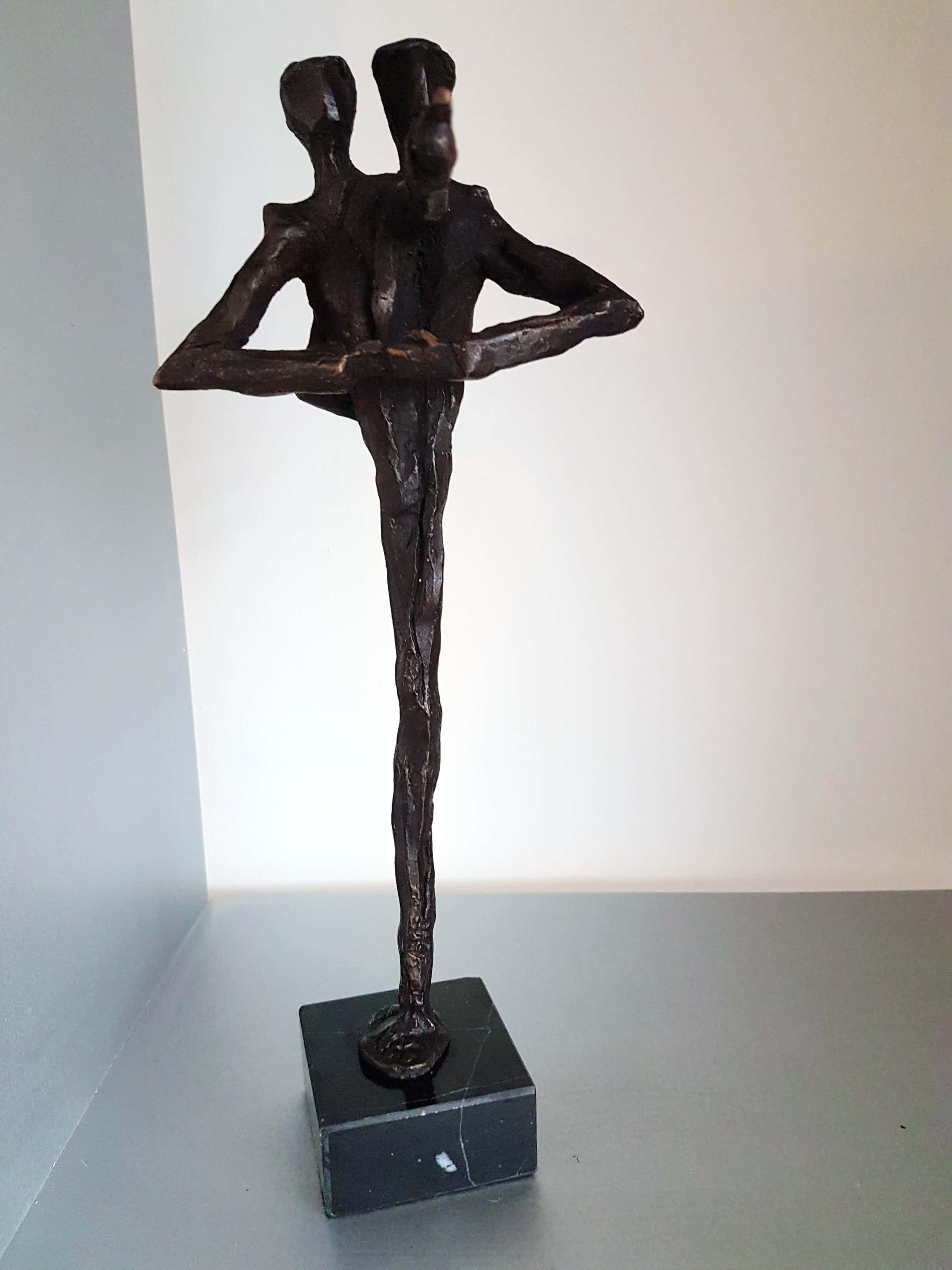 """Klaas van den Berg - 1941 - 2018 Brons beeld """" Ik wijs je de weg """" kopen? Bied vanaf 155!"""