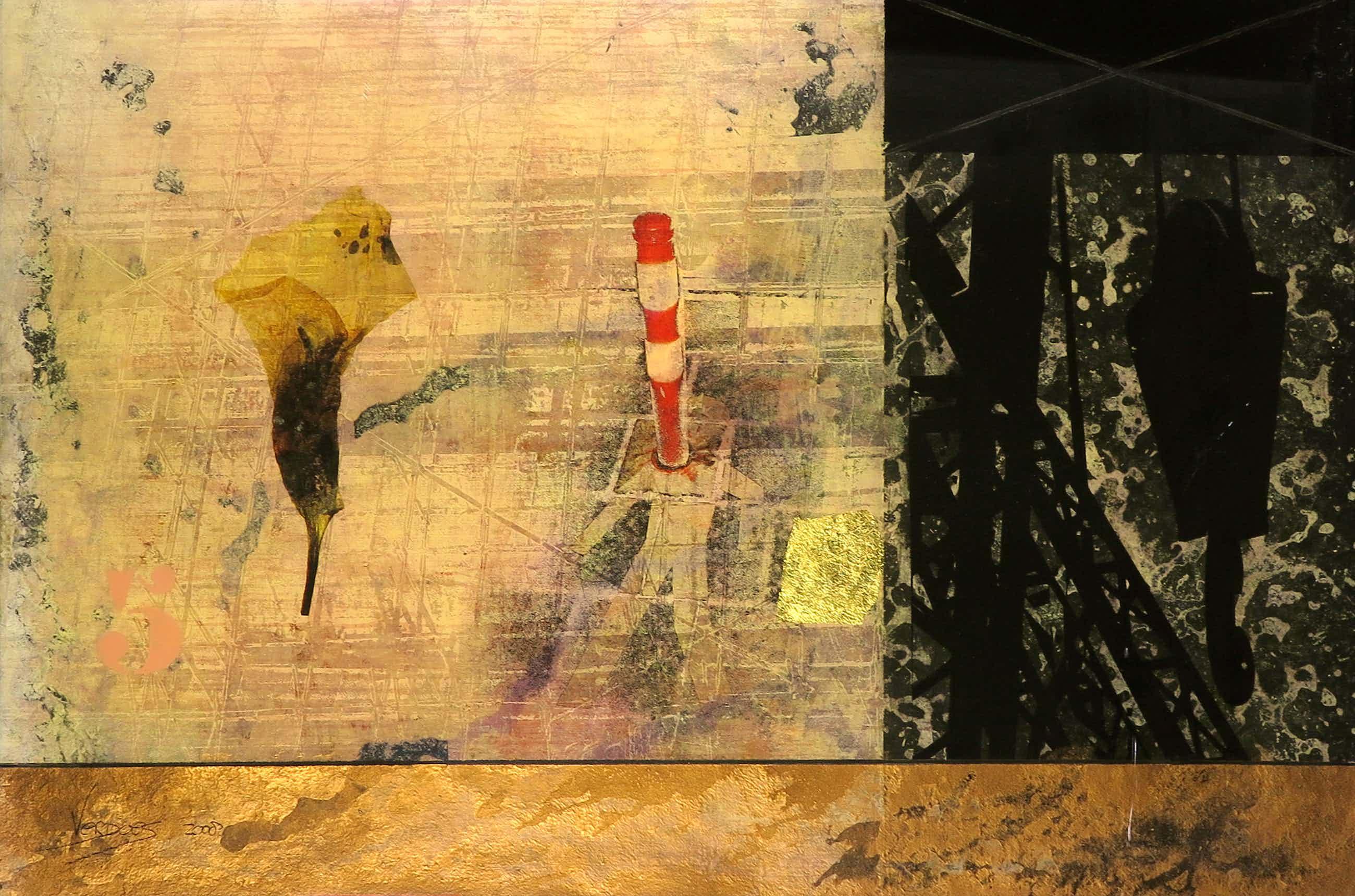 Mark Verdoes - Gemengde techniek achter epoxy op hout, Dating Indira kopen? Bied vanaf 40!