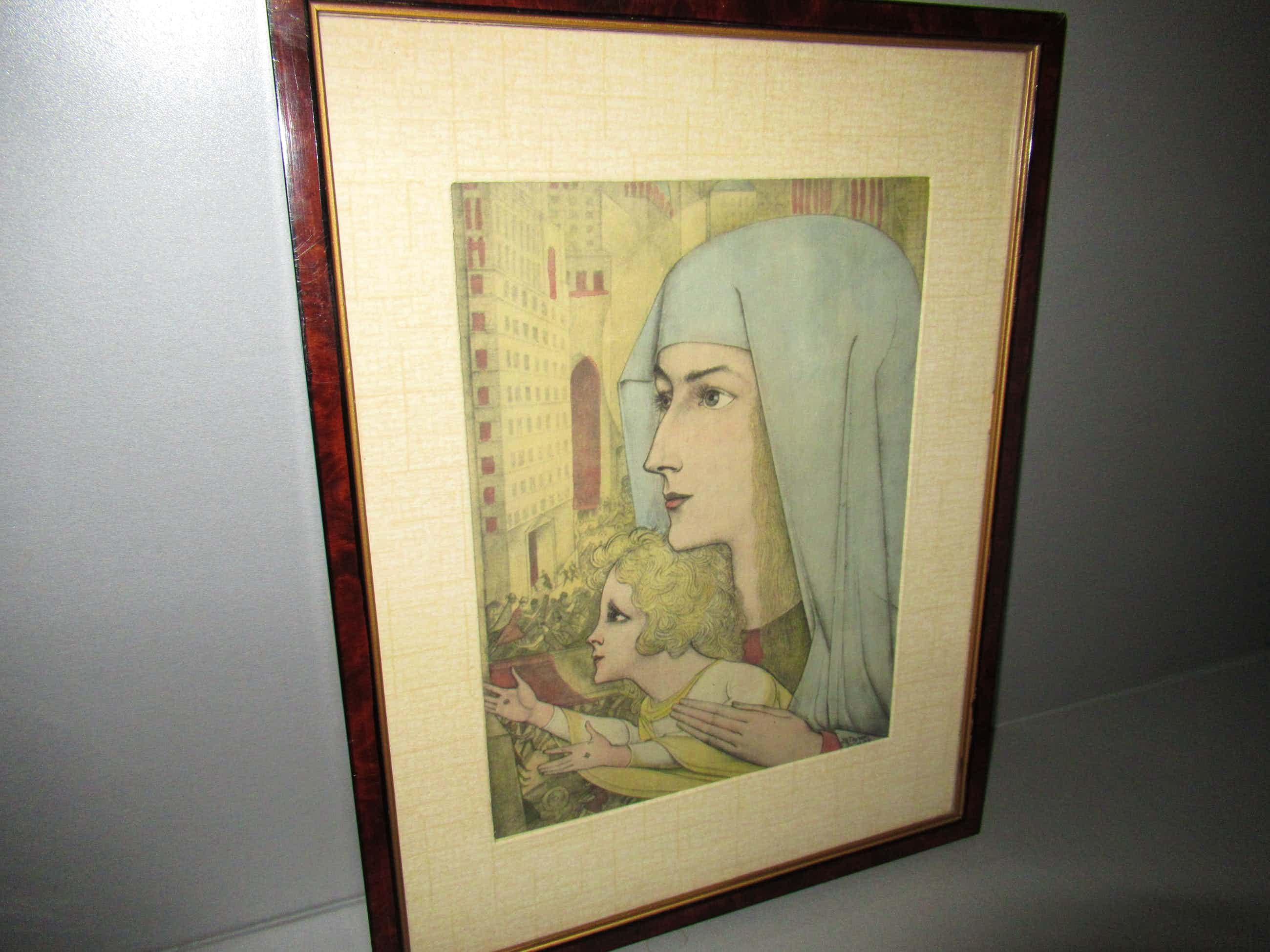 Jan Toorop - MADONNA MET KIND 1927 kopen? Bied vanaf 85!