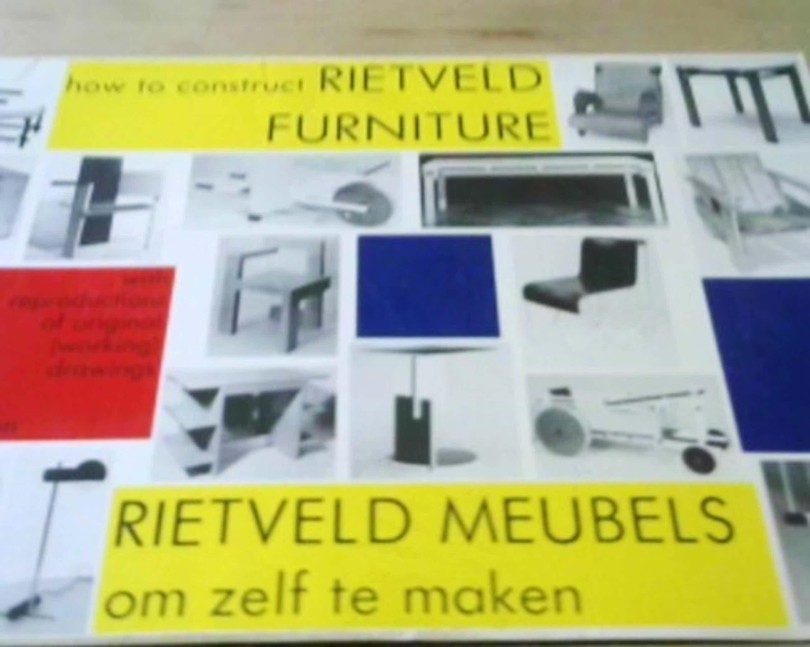 Gerrit Rietveld - Rietveld meubels om zelf te maken / How to construct Rietveld furniture kopen? Bied vanaf 35!