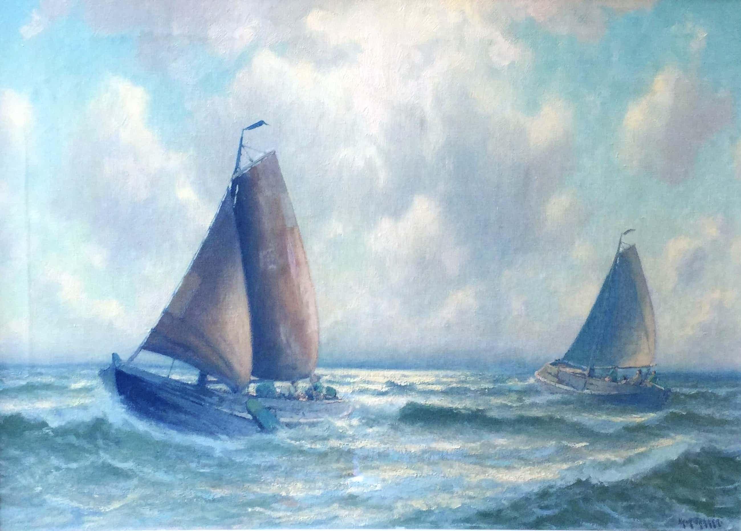 Henk Dekker - C4625-12, Botters op zee kopen? Bied vanaf 500!
