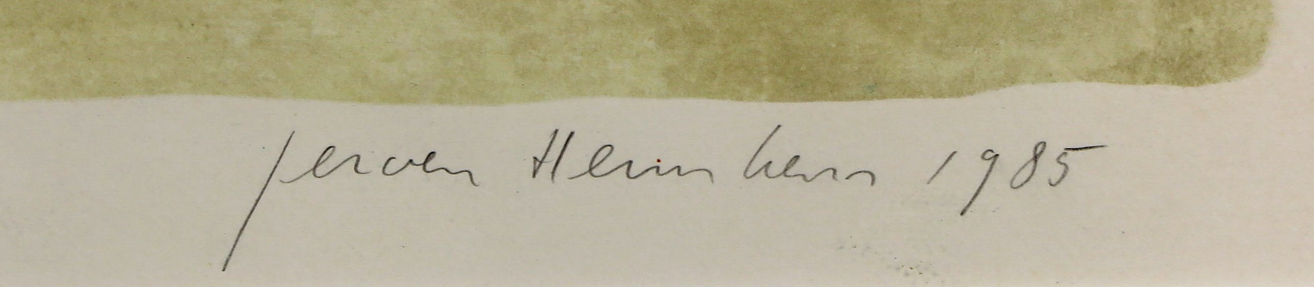 Jeroen Hermkens - Litho, Leningrad - Ingelijst kopen? Bied vanaf 60!