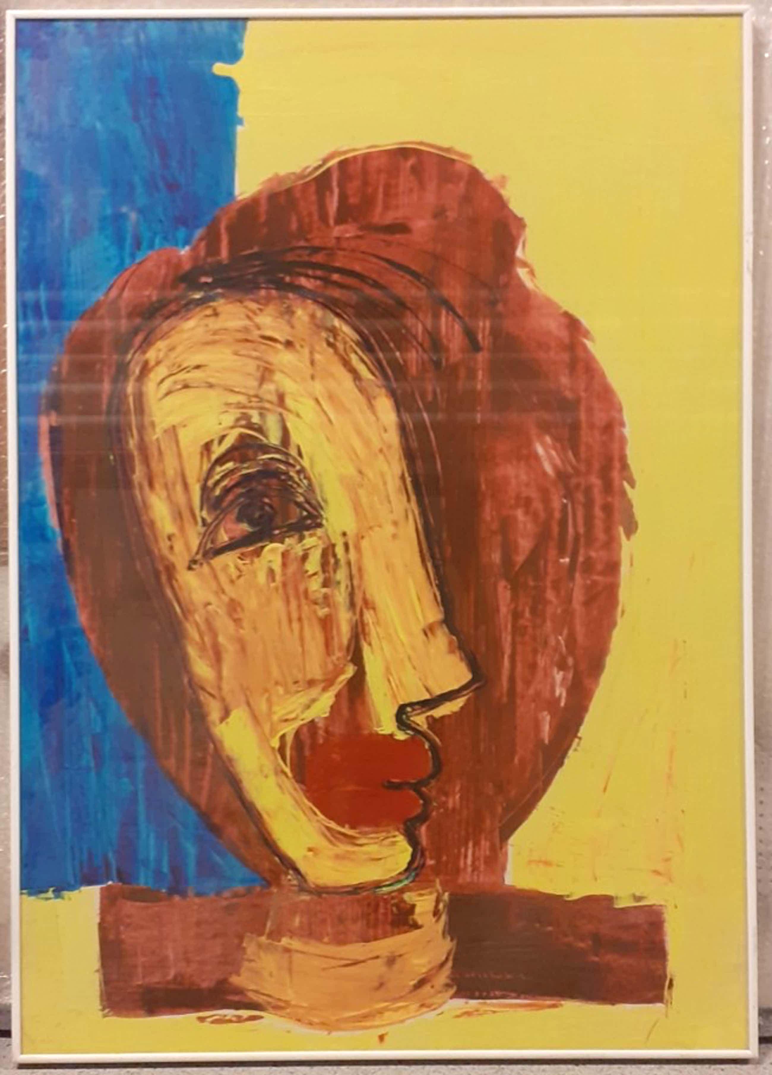Rajne Dangova - Abstract Portret kopen? Bied vanaf 300!