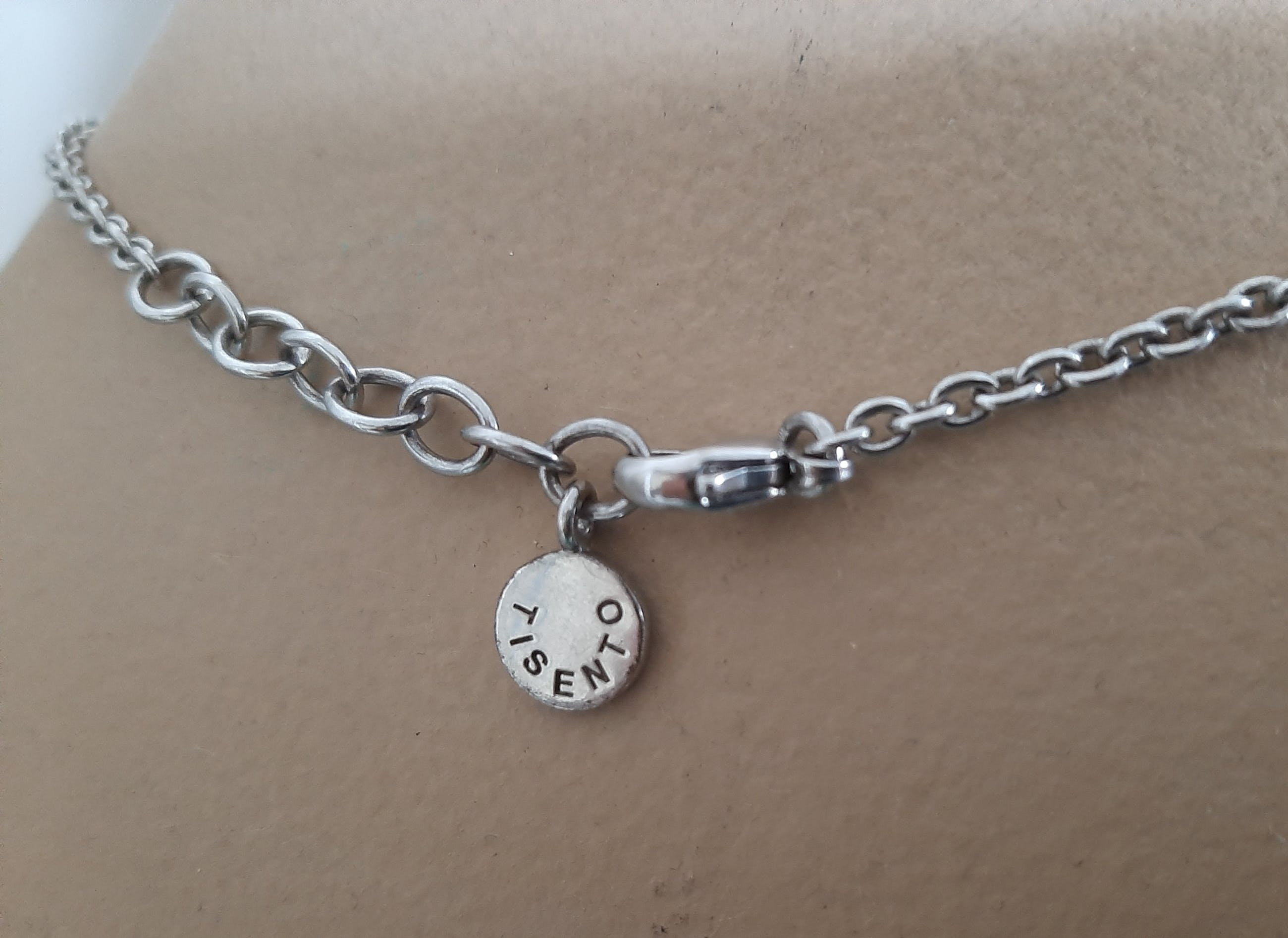 Zilveren ketting 925 met hanger witte topaas Ti Sento 925 kopen? Bied vanaf 1!