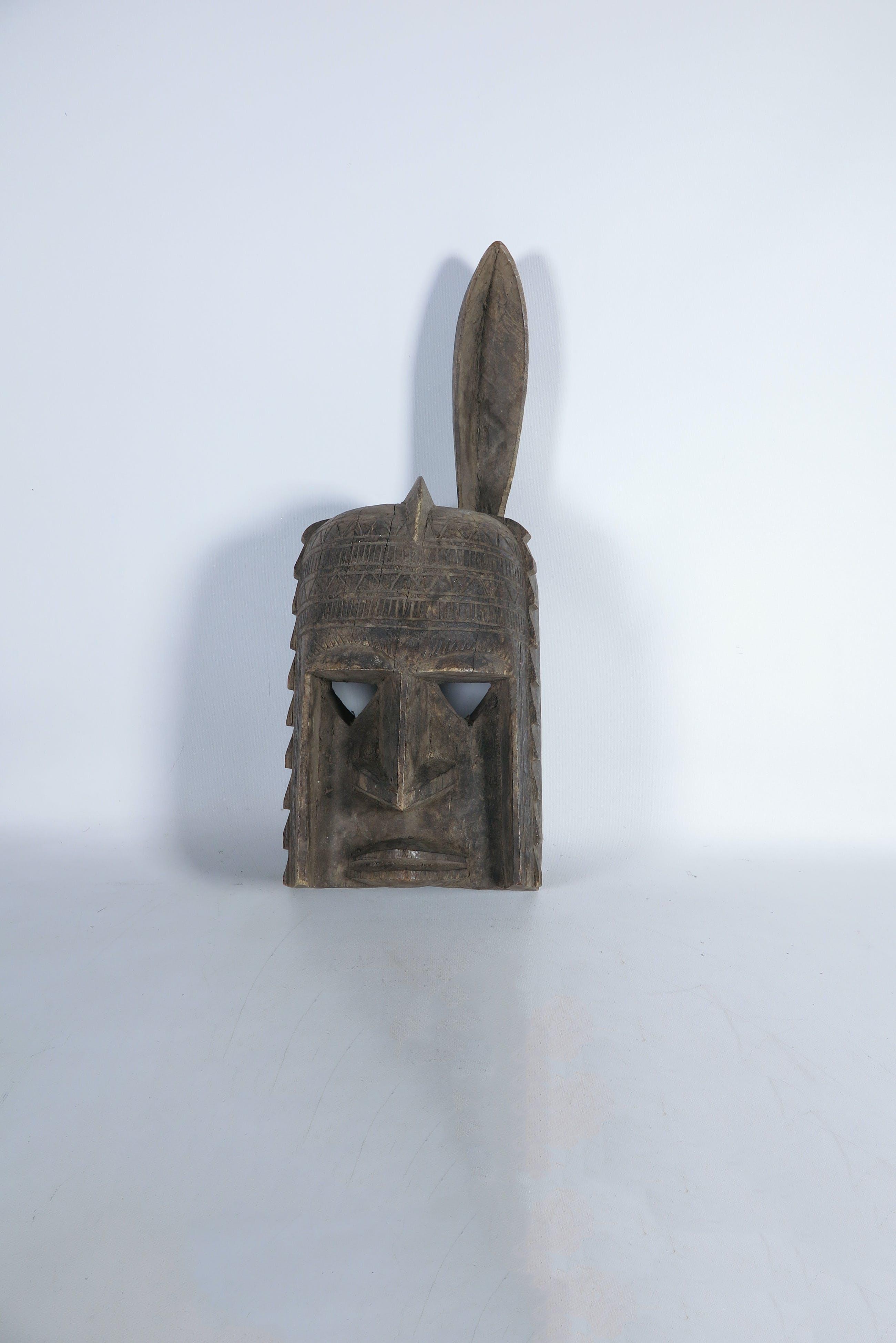Dogon - Houten Dieren Masker kopen? Bied vanaf 1!
