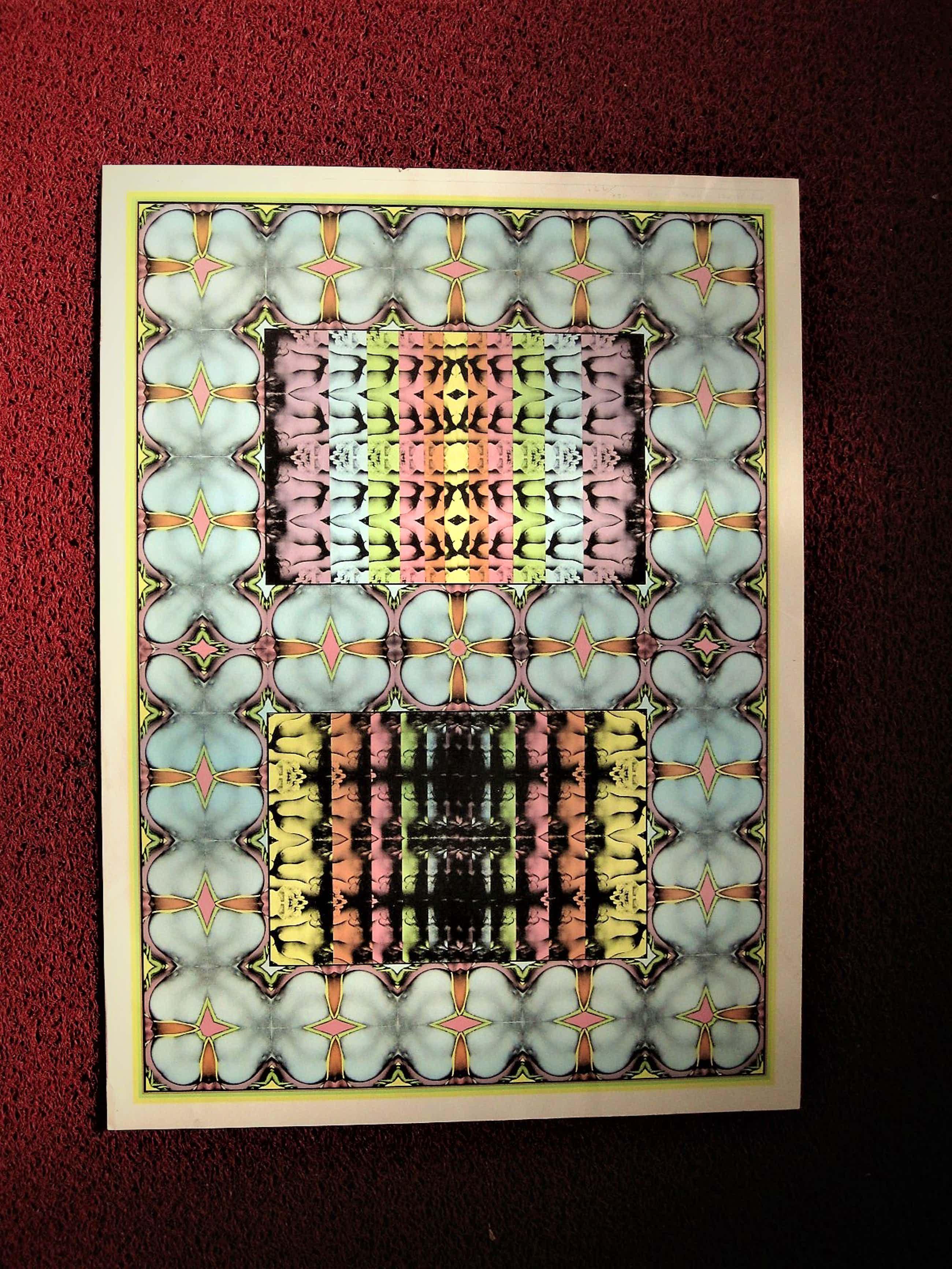 Shinkichi Tajiri - Prachtige potloodgesigneerde PoP-ArT offset litho -My secret garden I - 1975 kopen? Bied vanaf 60!