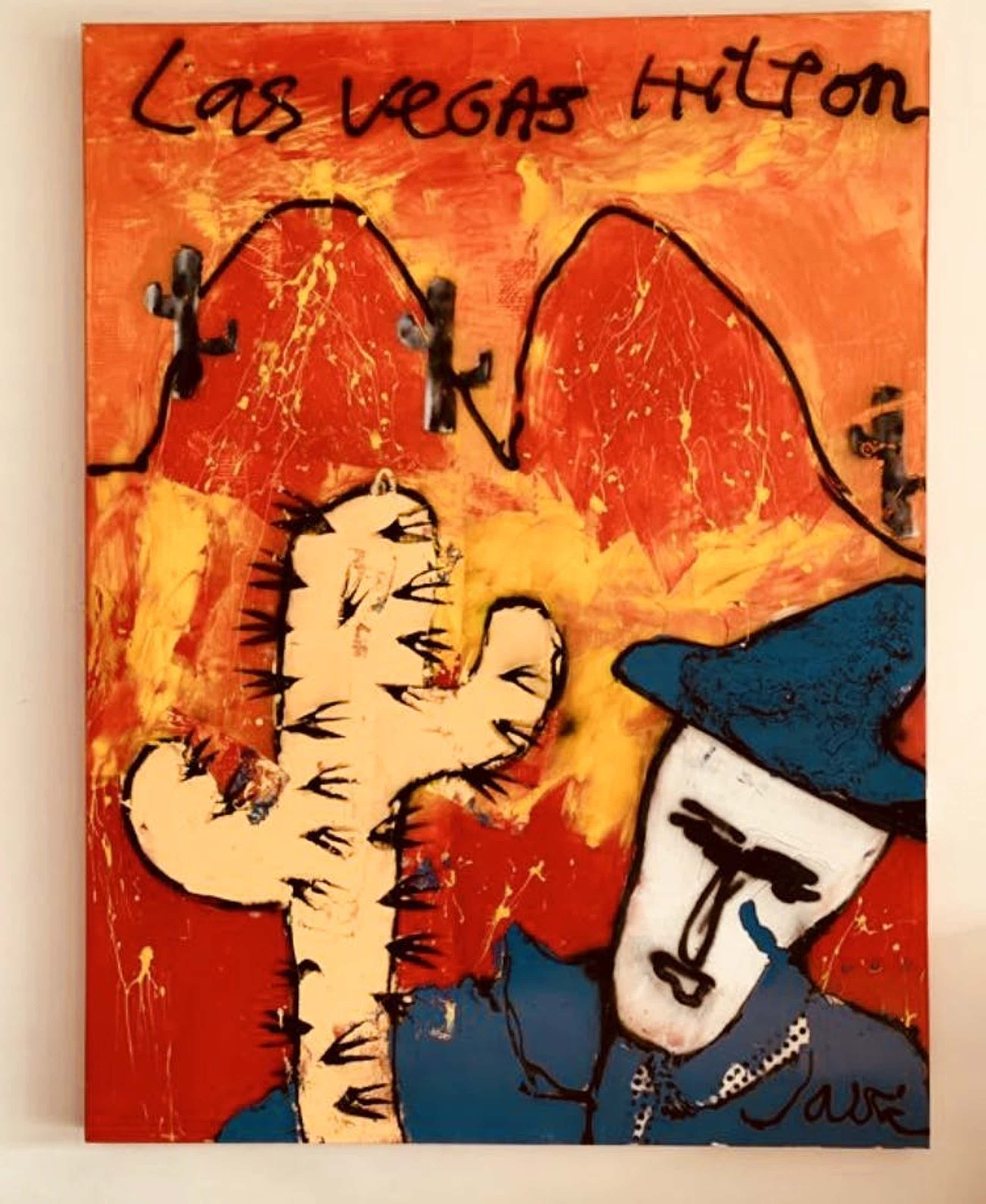 Jack Liemburg - Cactus - ZEER GROOT WERK kopen? Bied vanaf 345!