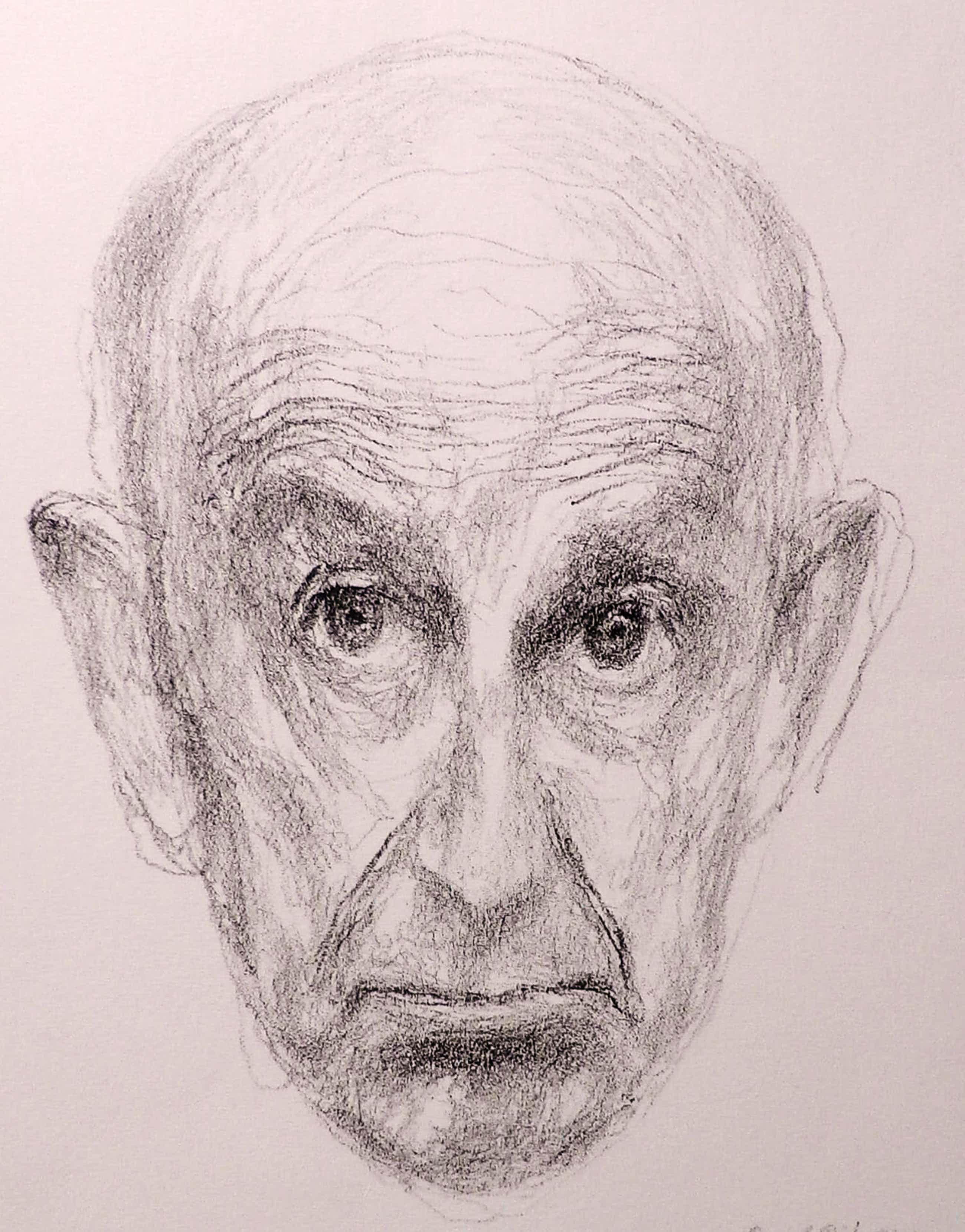 Paul Citroen - litho: Zelf portret - 1975 kopen? Bied vanaf 75!