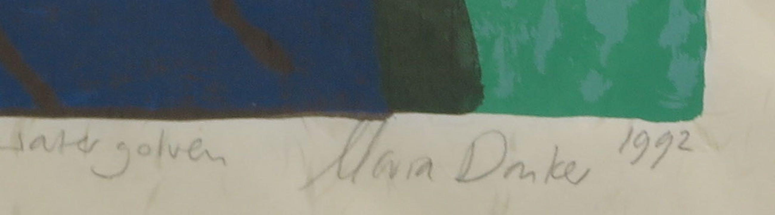 Maria Donker - Houtsnede op Japans papier, kopen? Bied vanaf 20!