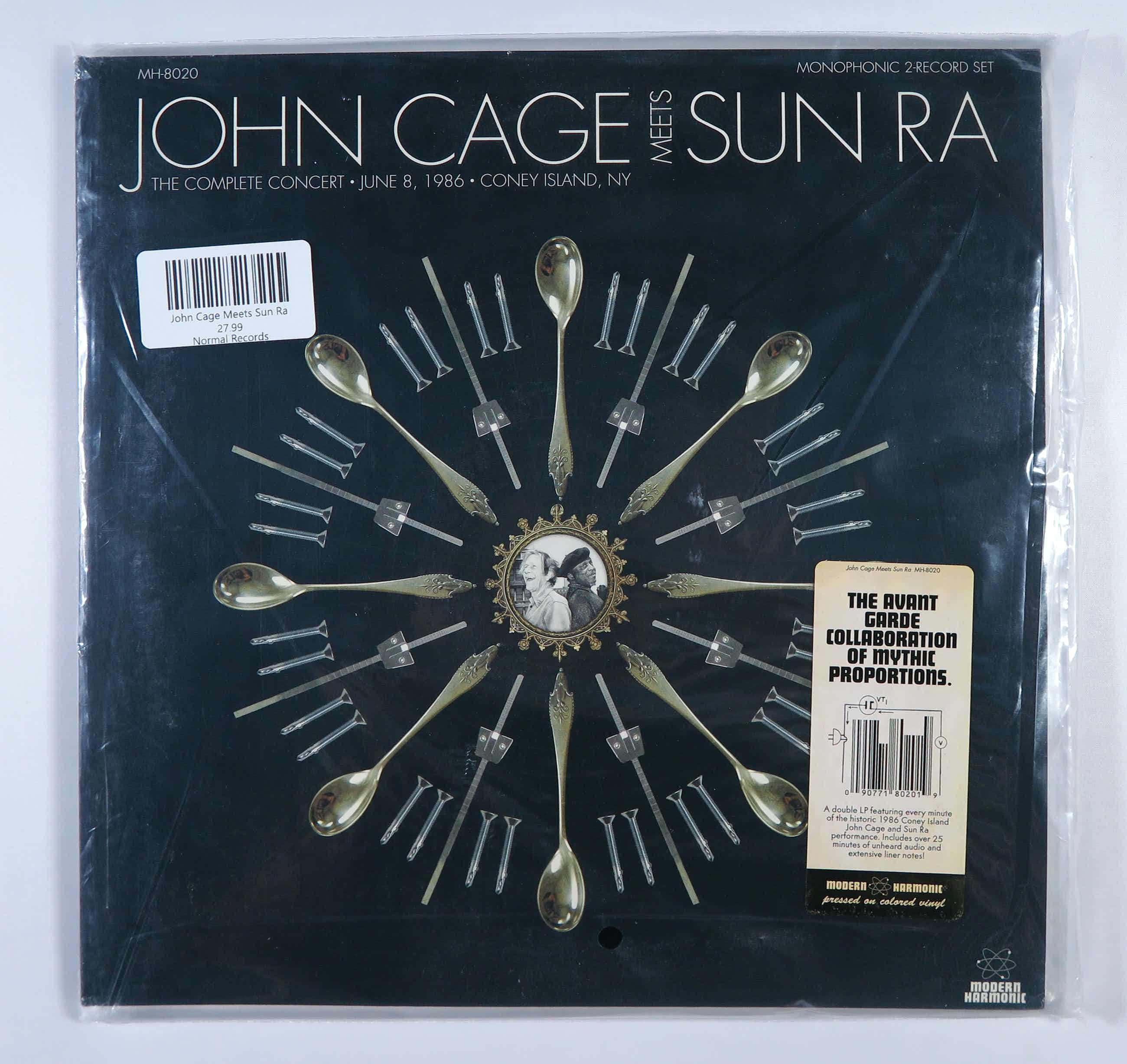 John Cage - 2LP - The Complete Concert June 8, 1986 - Coney Island, NY kopen? Bied vanaf 20!