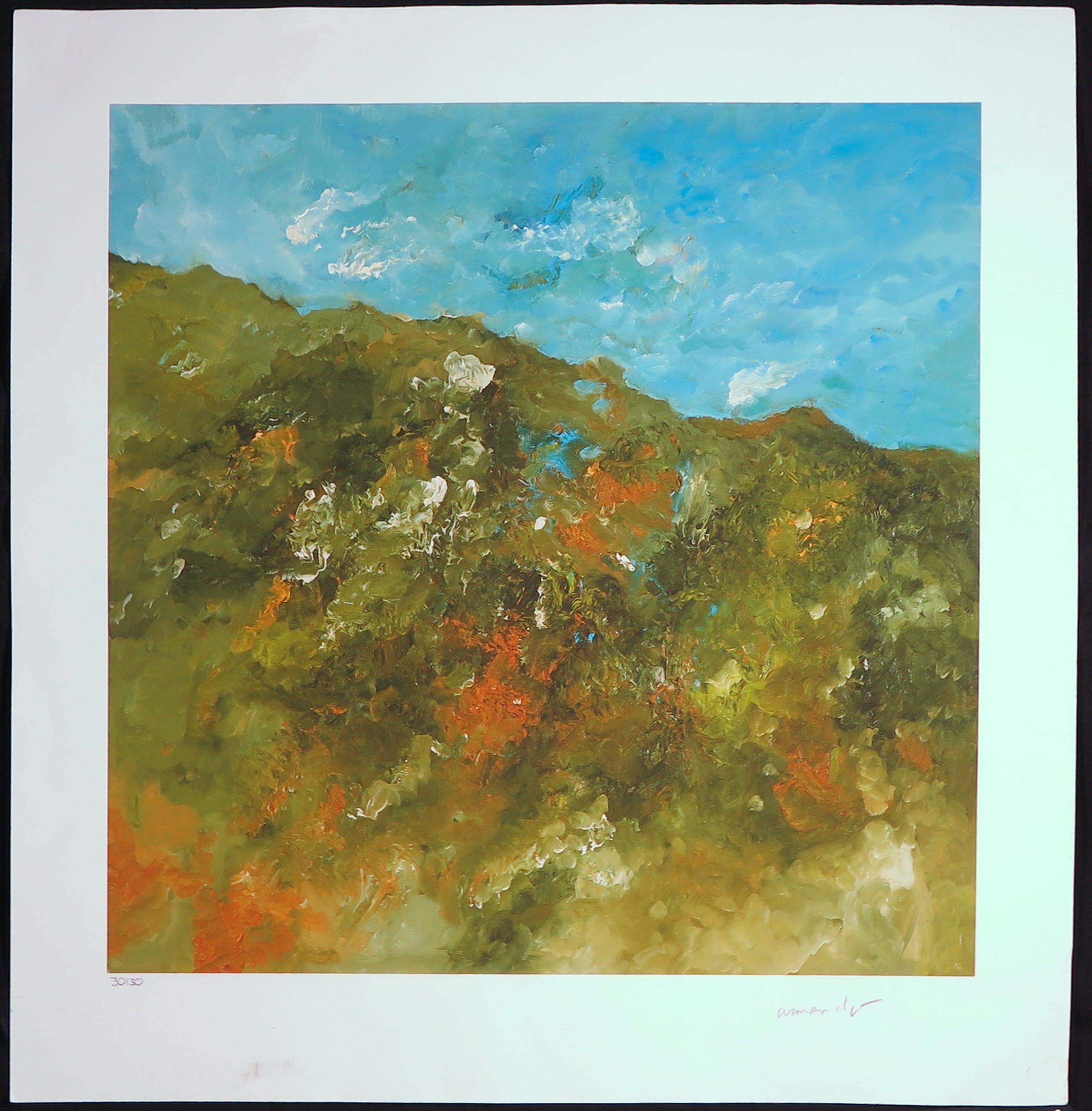 Armando - Giclée op papier, Landschaft kopen? Bied vanaf 1!