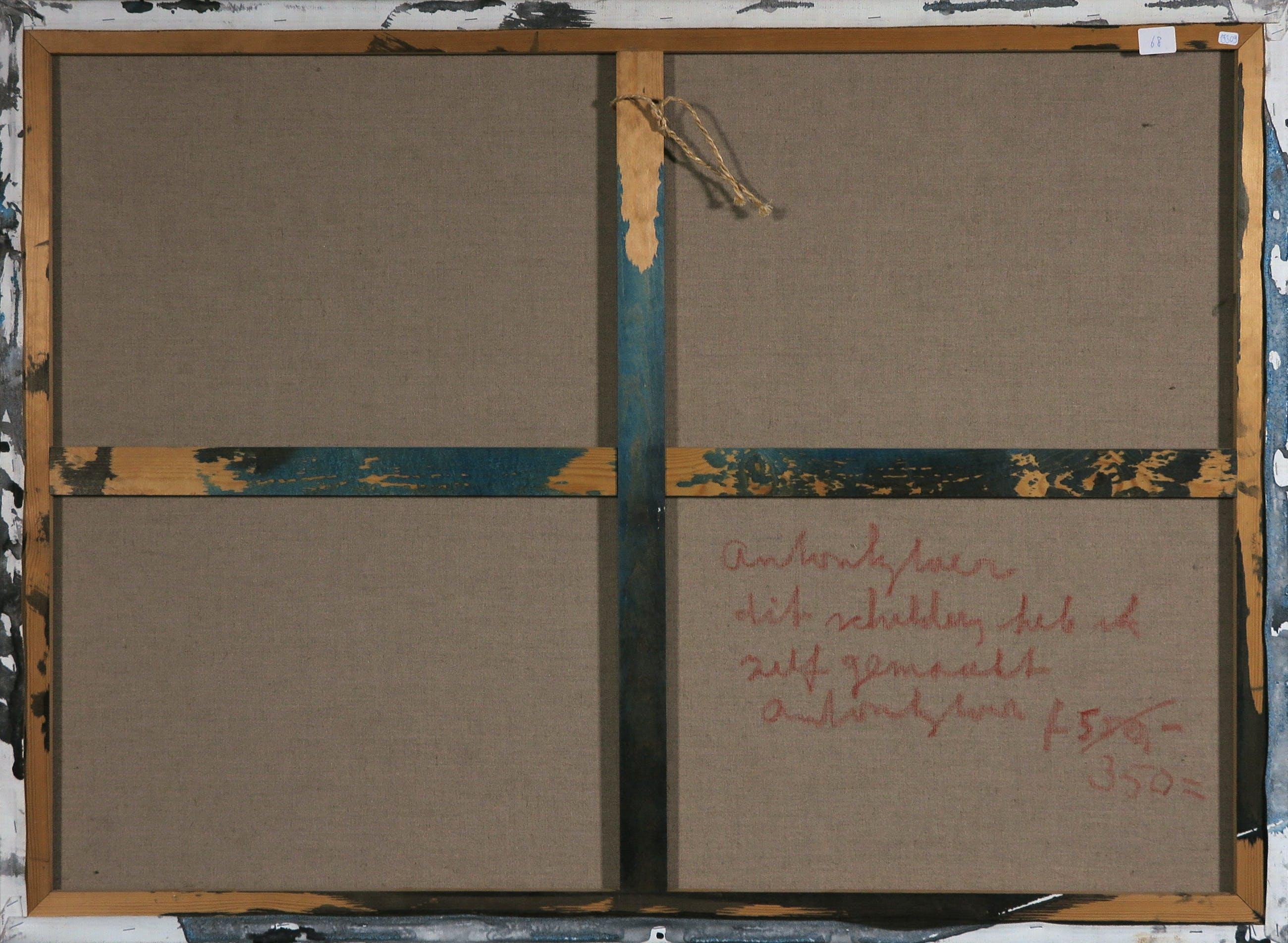 Anton Heyboer - Acryl met Oost-Indische inkt op doek - Dit heb ik zelf gemaakt (Groot) kopen? Bied vanaf 250!