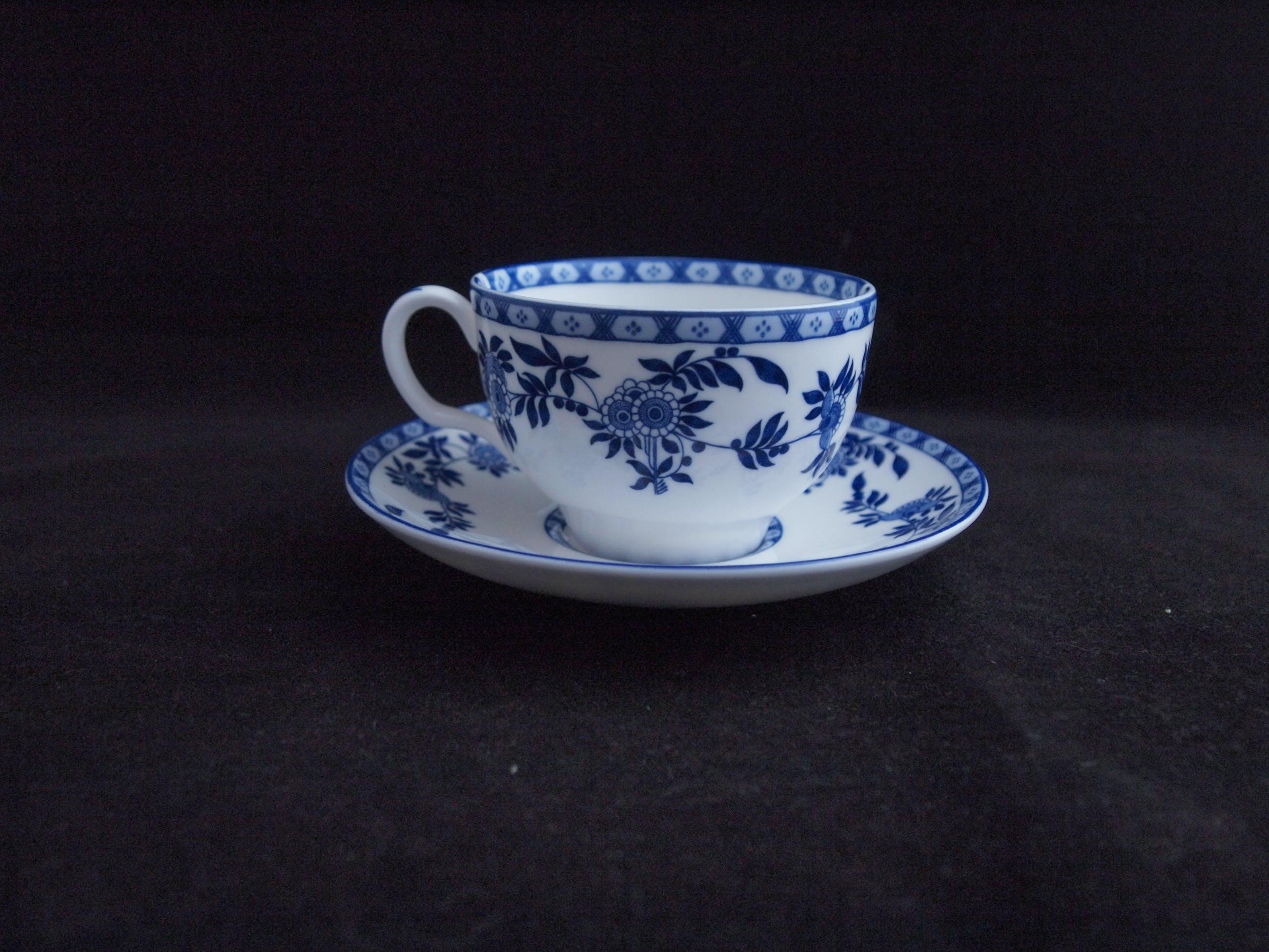 Minton & Co - Kop- en schotel decor Delft Blue kopen? Bied vanaf 1!