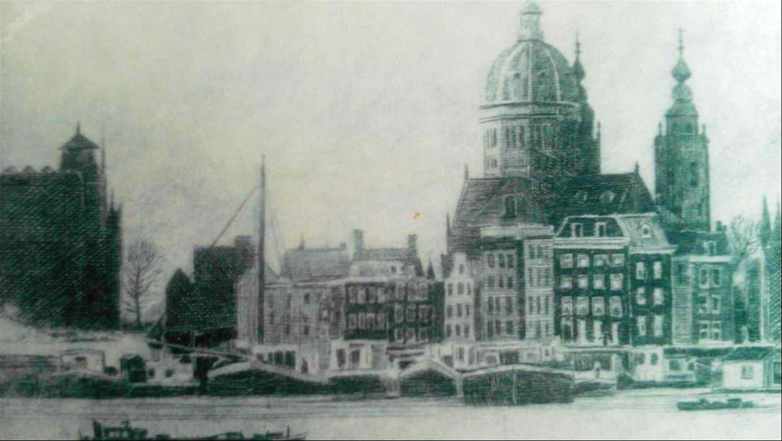 Poppe Damave - Amsterdam met St Nicolaaskerk kopen? Bied vanaf 39!
