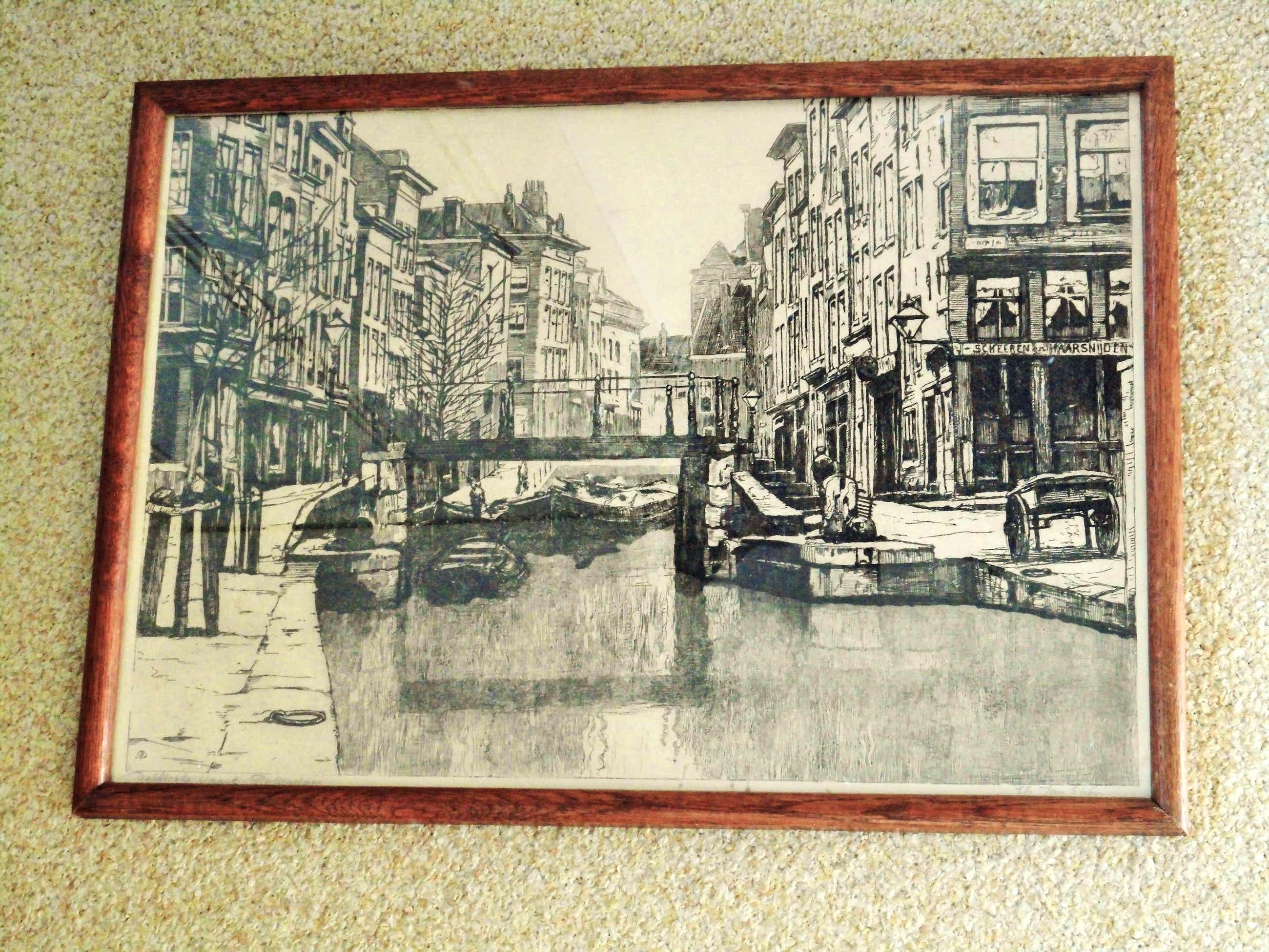 Jan Sirks - grafiek - Delftsche Vaart Rotterdam kopen? Bied vanaf 40!