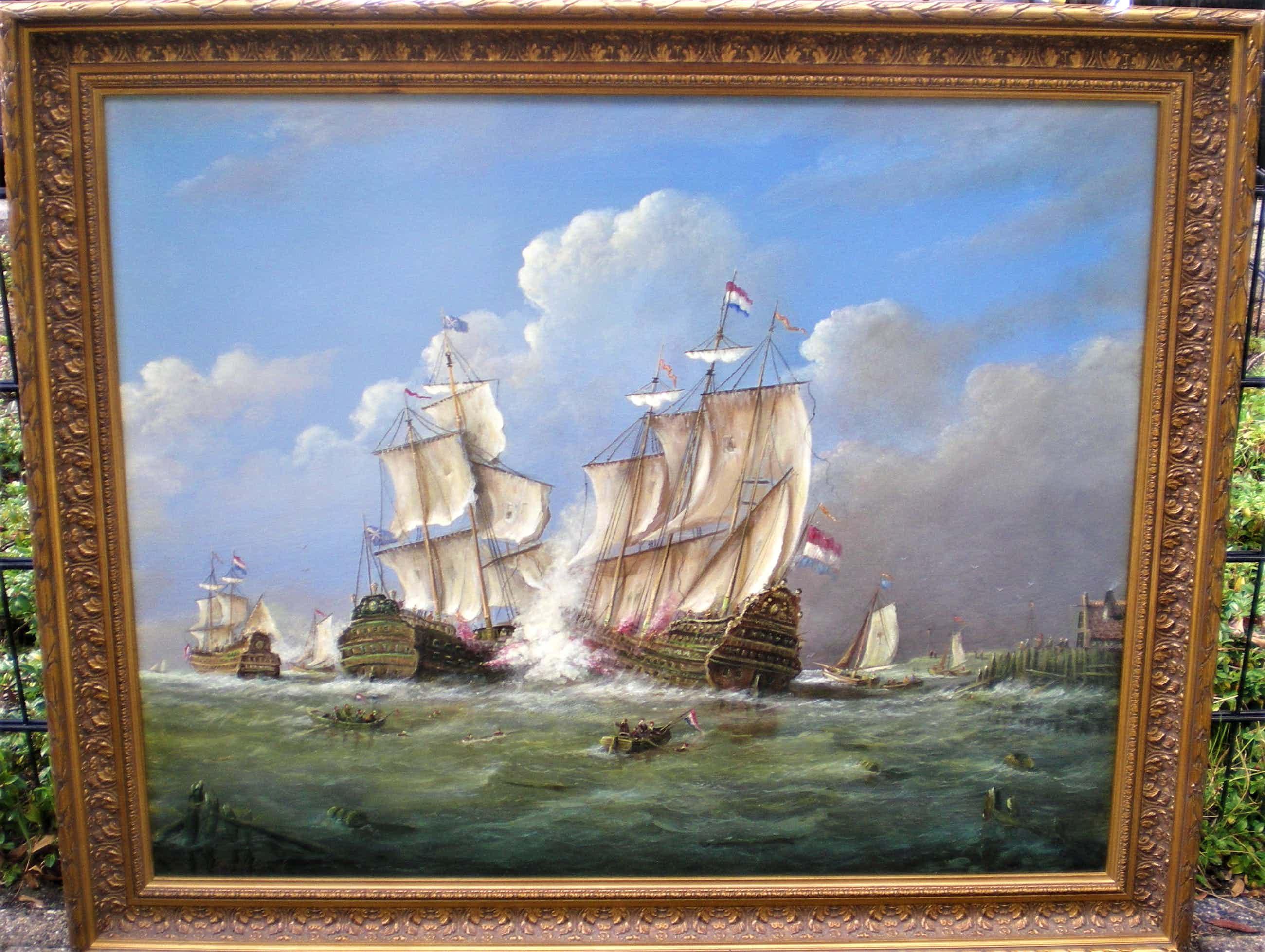 Thomas Heesakkers - Historische Zeeslag kopen? Bied vanaf 775!