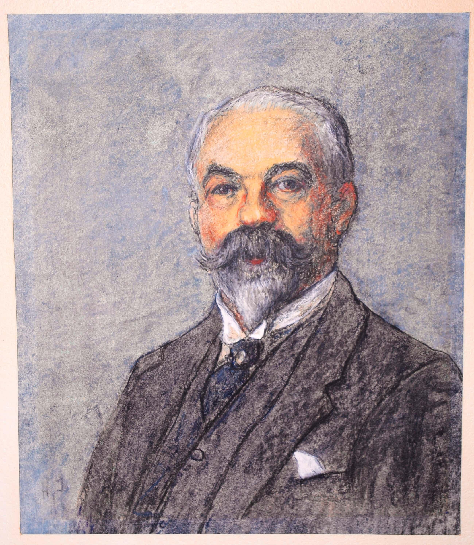Hendrik Johannes Haverman - Portret van een onbekende heer kopen? Bied vanaf 50!