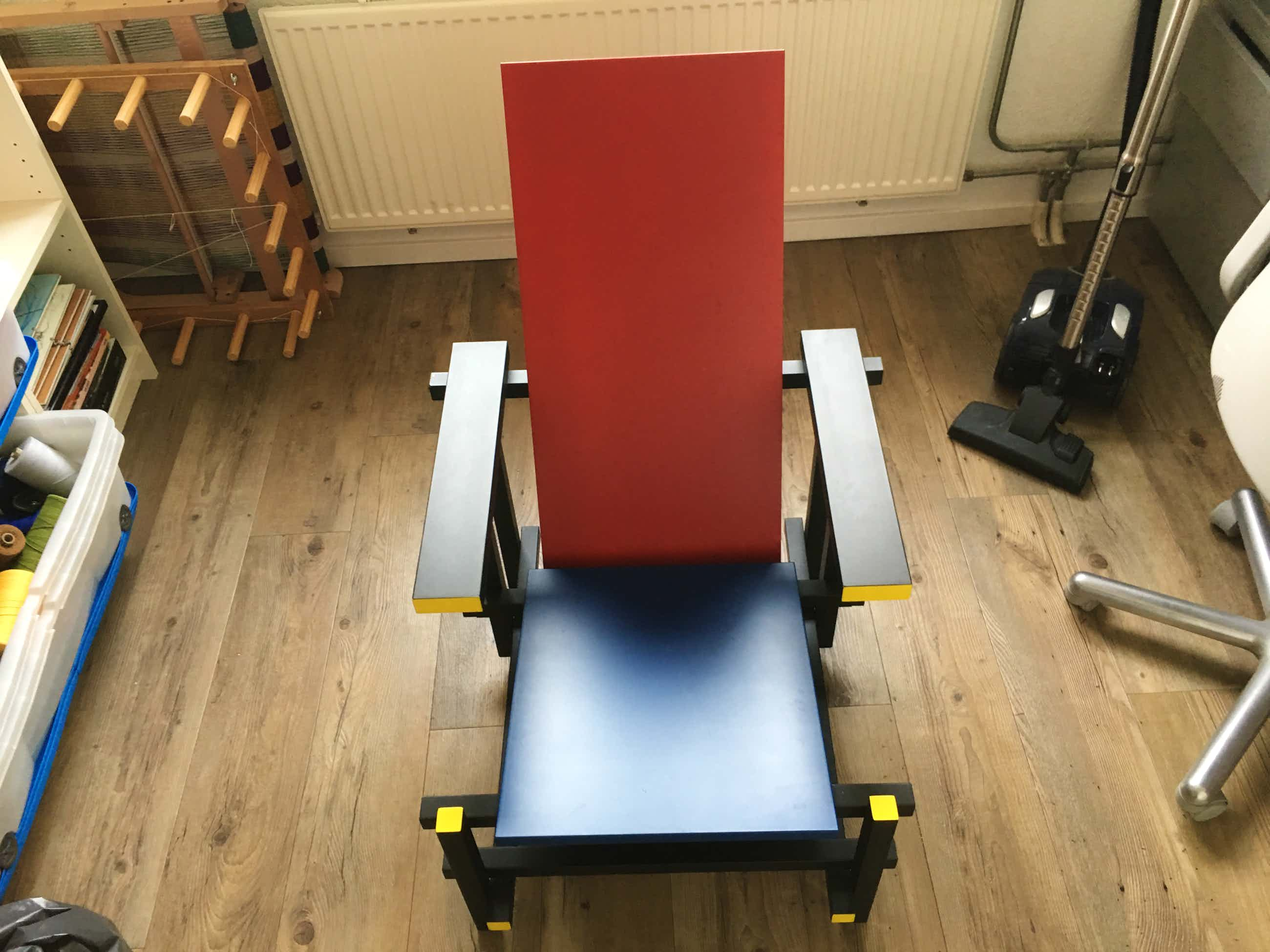 Gerrit Rietveld - Blaauw rode stoel kopen? Bied vanaf 185!