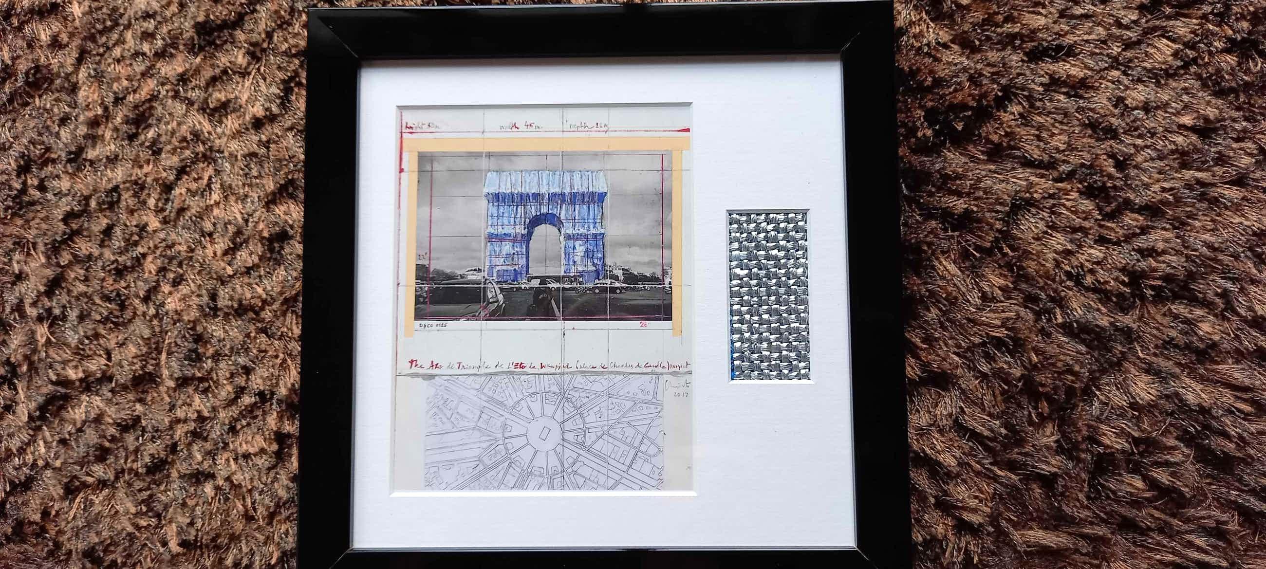 Christo - & Jeanne- Claude - Arc de Triomphe Wrapped kopen? Bied vanaf 69!