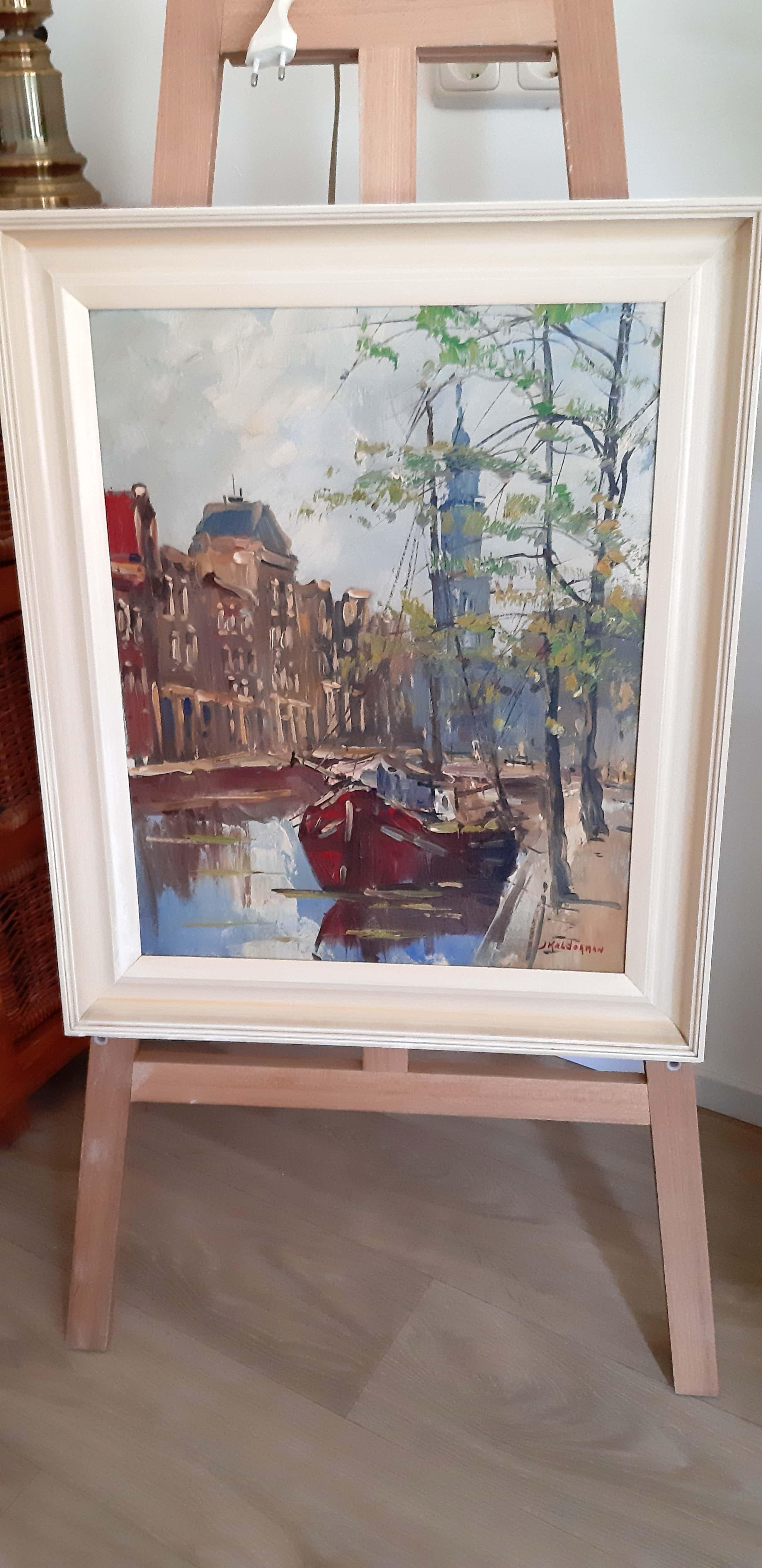 Jan Kelderman - Stadsgezicht Amsterdam kopen? Bied vanaf 85!