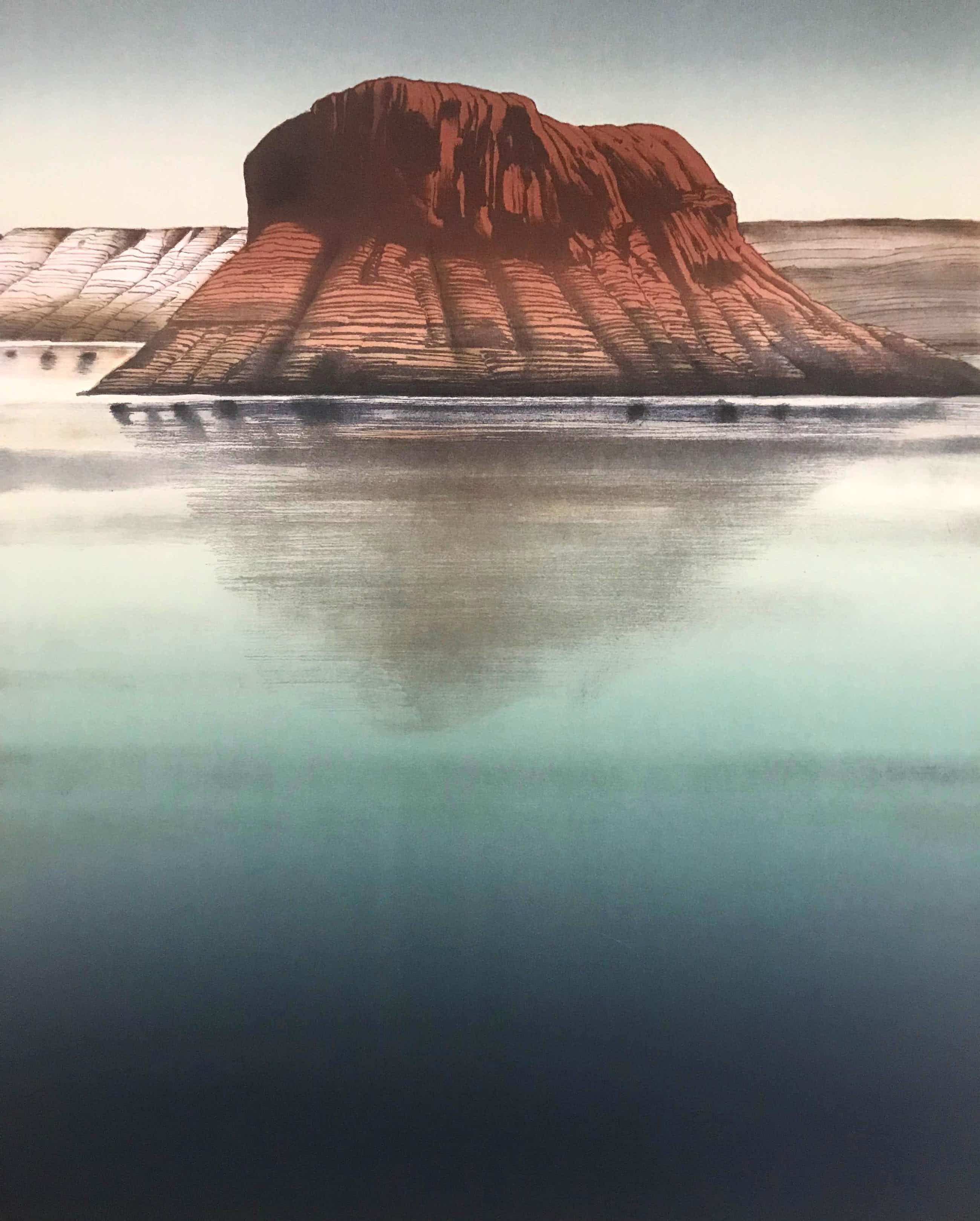 Alain Le Foll - LAATSTE KEER AANGEBODEN!! Lithografie - 'Mount' - Gesigneerd - 43/150 kopen? Bied vanaf 95!