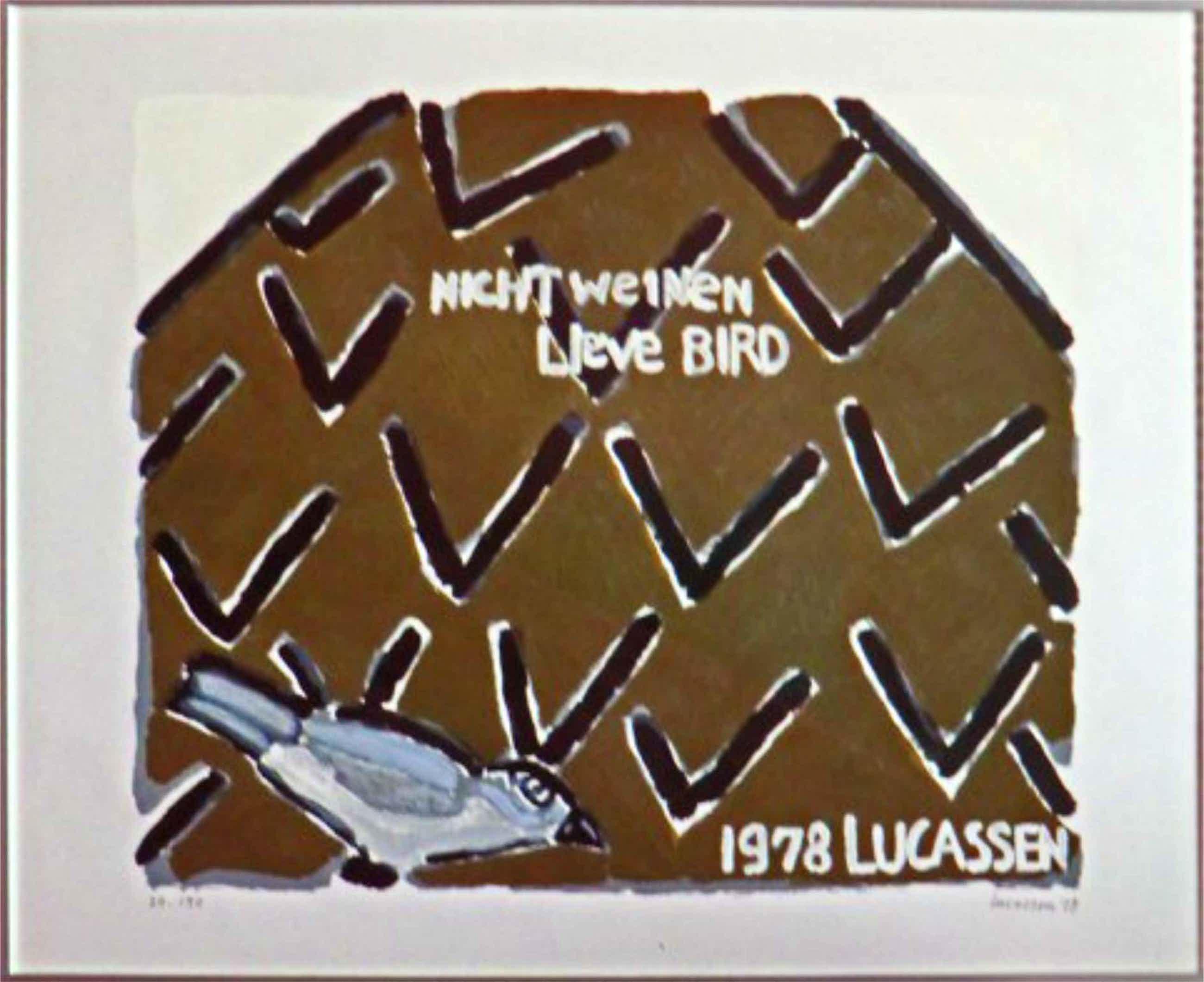 Reinier Lucassen - Nicht weinen lieve Bird kopen? Bied vanaf 125!