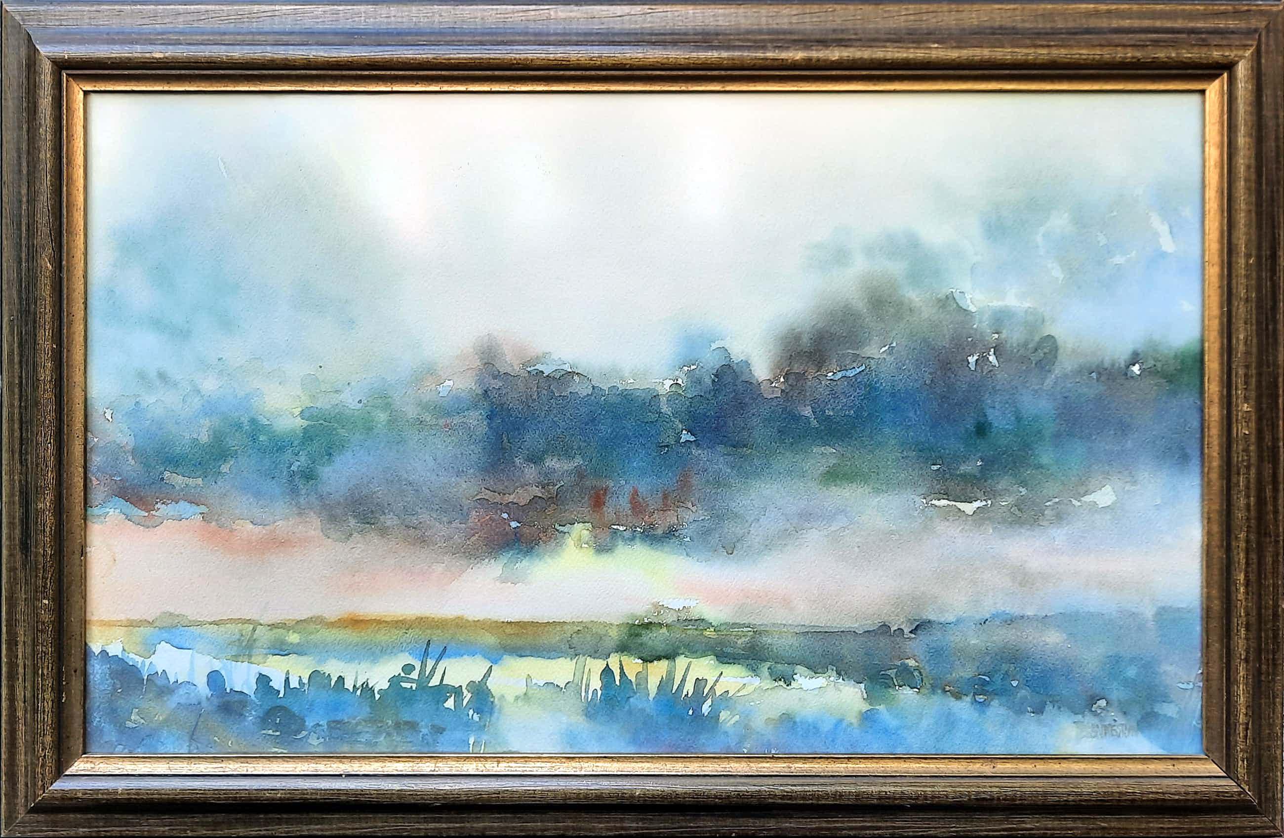 Theo Blankestijn - aquarel - Noord-Hollandse polder - 21036 kopen? Bied vanaf 75!