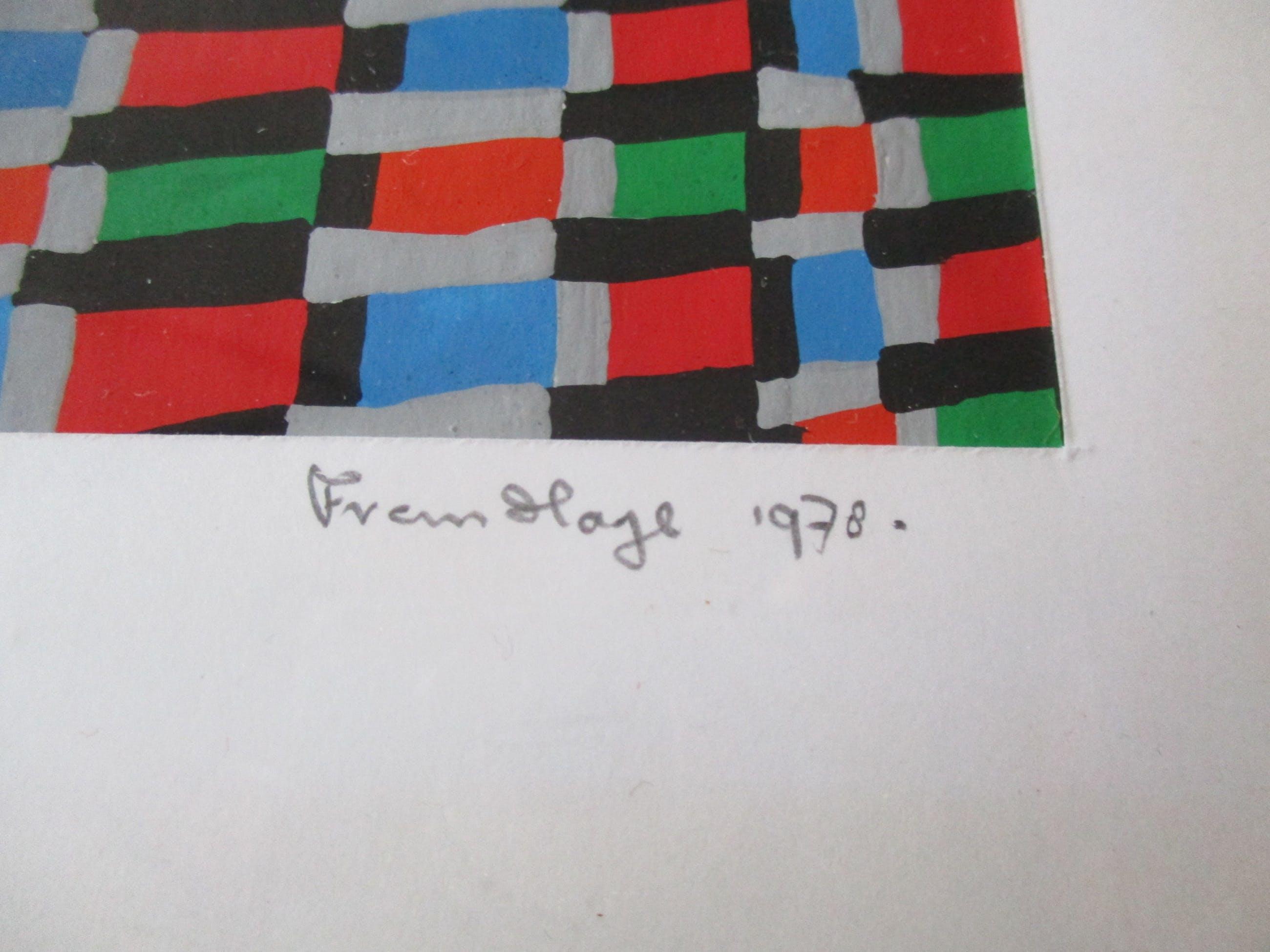 Frans F. Hage - Structuur no. 3 kopen? Bied vanaf 95!